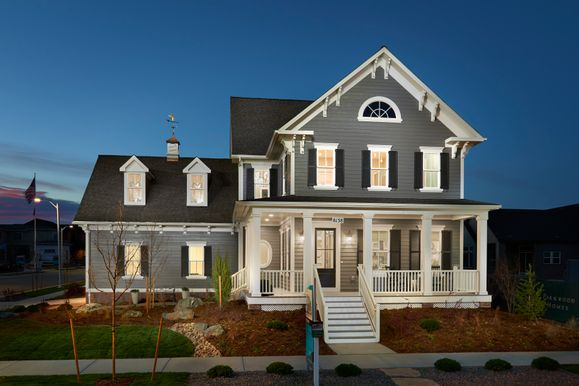 The Asheville Model Home in Sterling Ranch