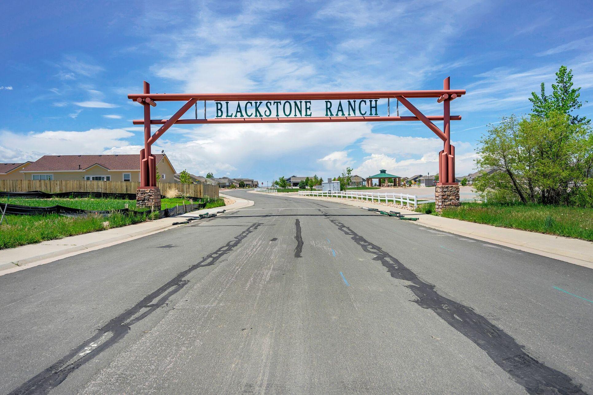 Blackstone Ranch :Main Enterance