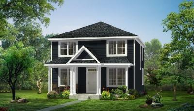The Arlington Elev A Color Scheme 5 20170123 (Custom):The Arlington - Sold Exclusively at Main Street Crossing in Wildwood