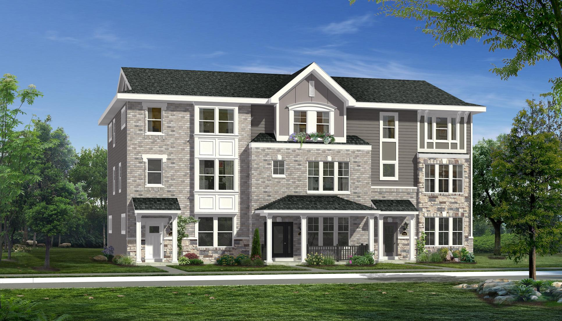 The Avondale - Uptown Townhomes Coming Soon to Talamore Square:The Avondale - Uptown Townhomes Coming Soon to Talamore Square