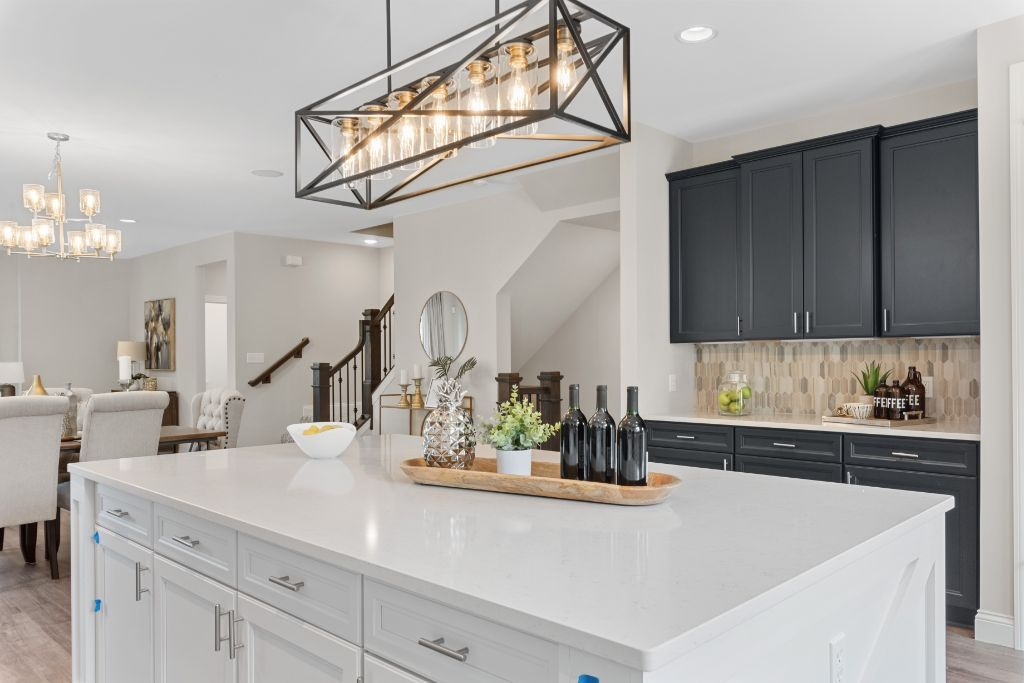 Talamore Square Decorated Townhome Display