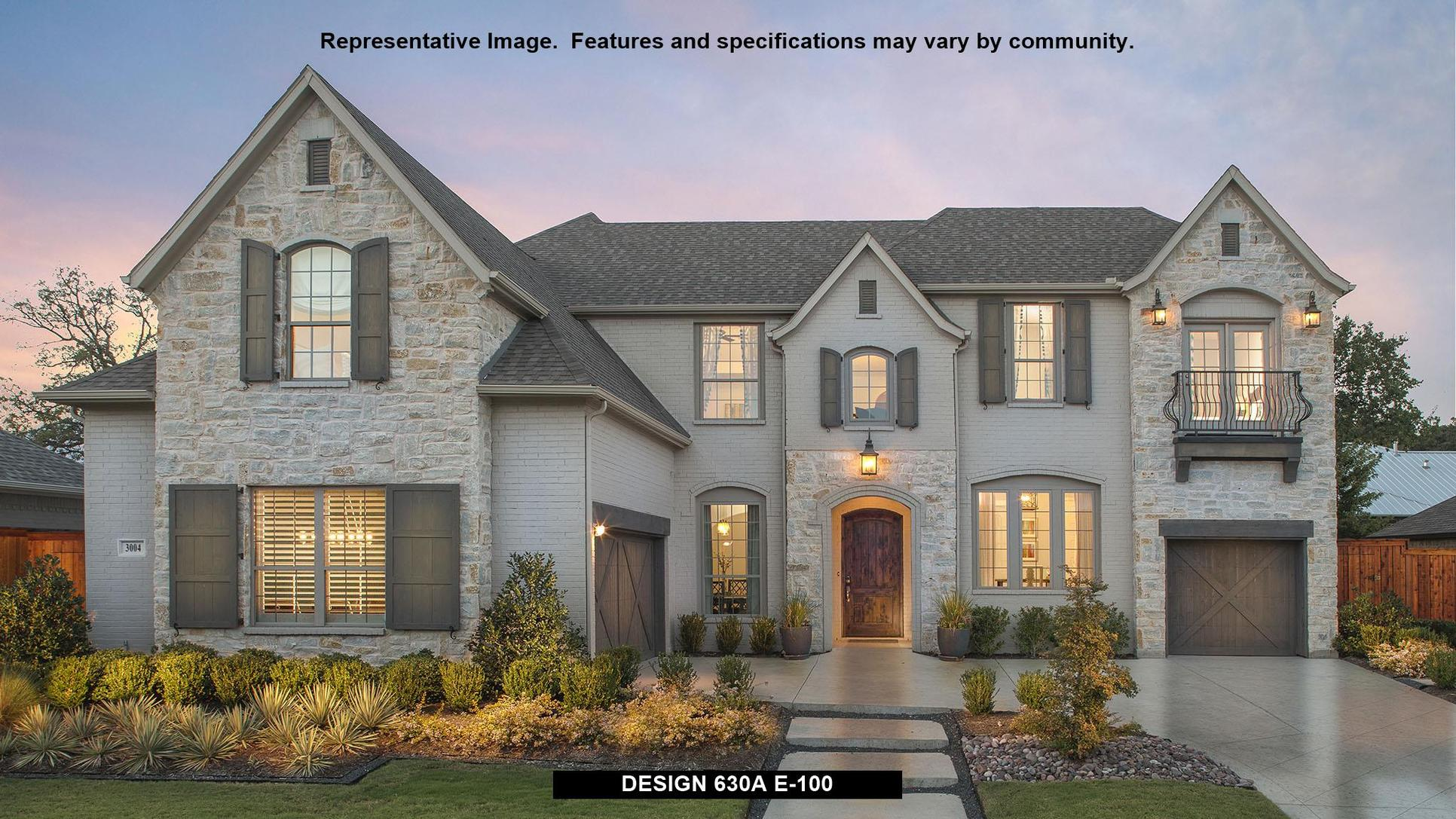 Plan 630A:Representative photo.  Features and specifications may vary by community.