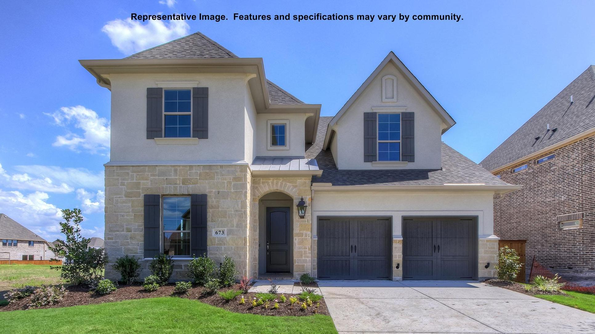 Plan 436A:Representative photo.  Features and specifications may vary by community.