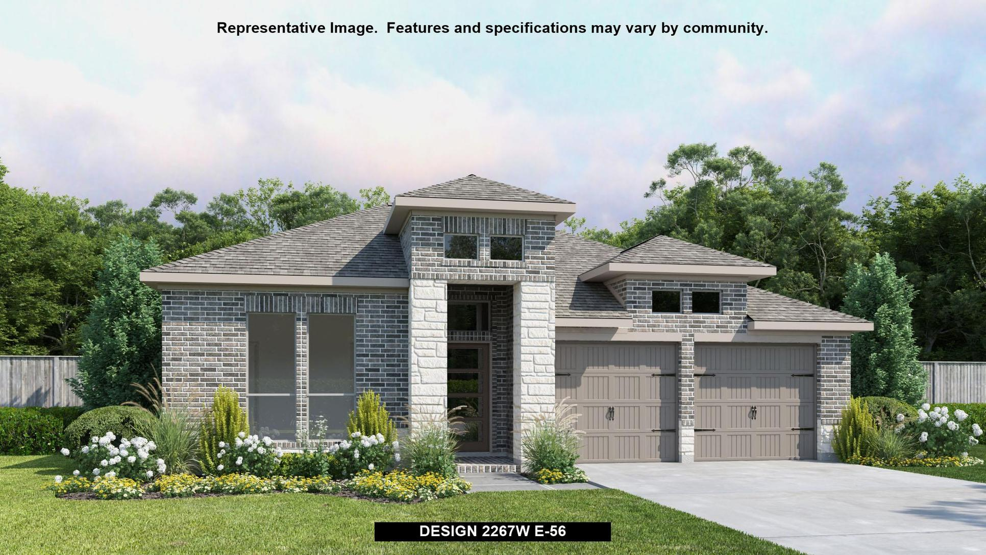 Plan 2267W:Representative photo.  Features and specifications may vary by community.