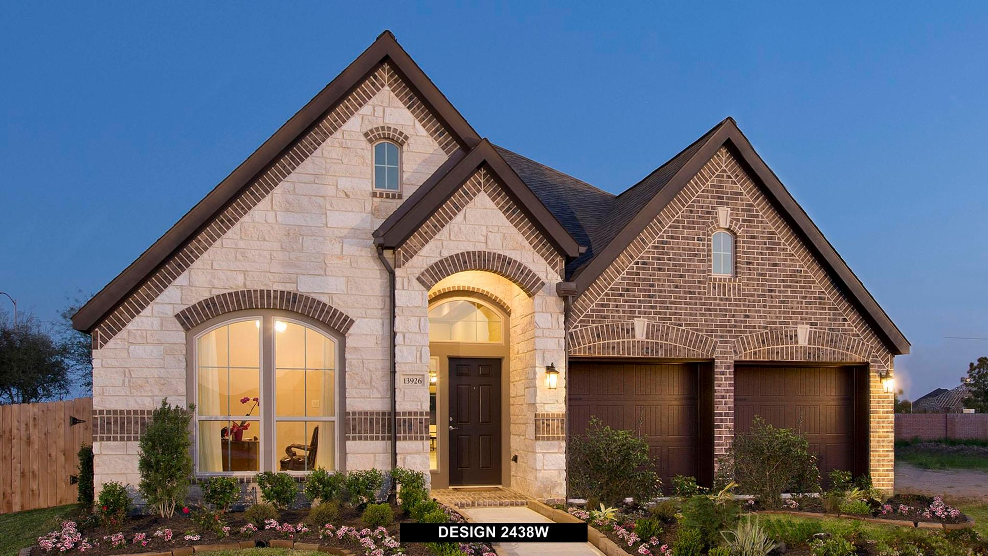 Plan 2438W:Representative photo.  Features and specifications may vary by community.