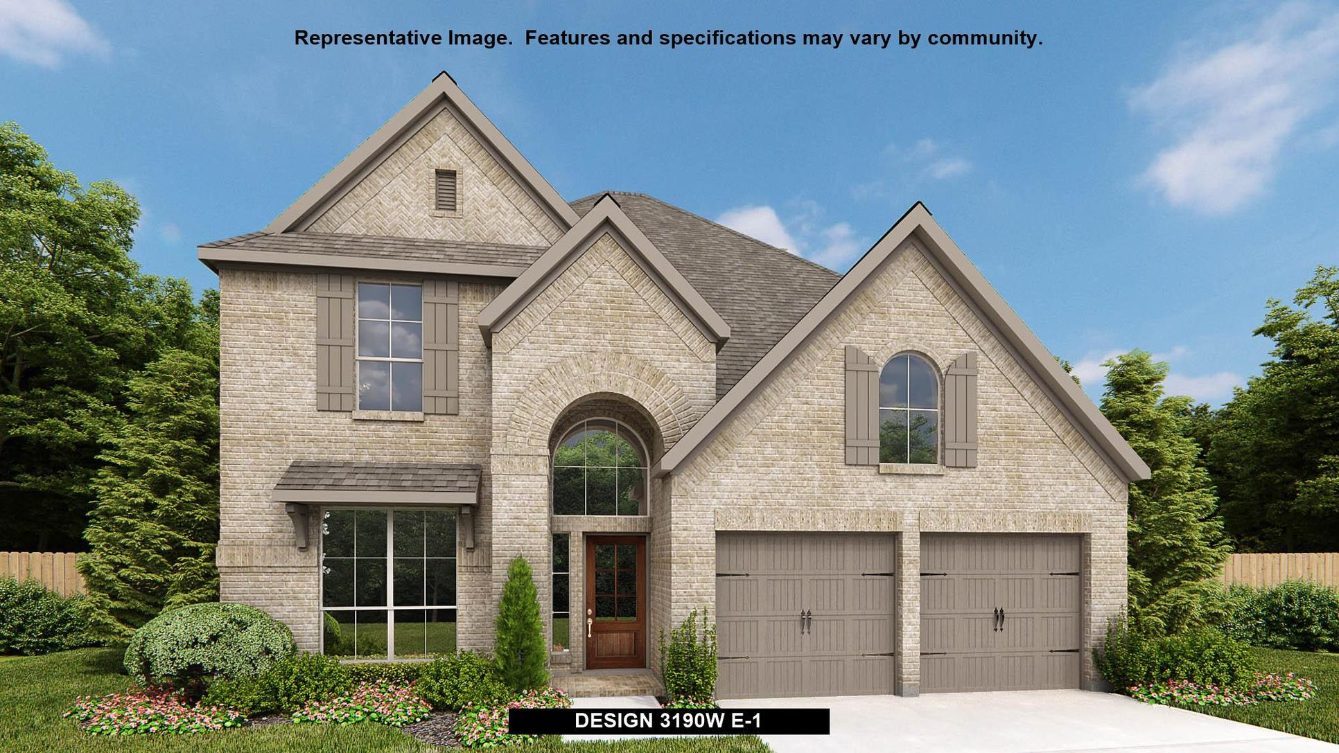 Plan 3190W:Representative photo.  Features and specifications may vary by community.