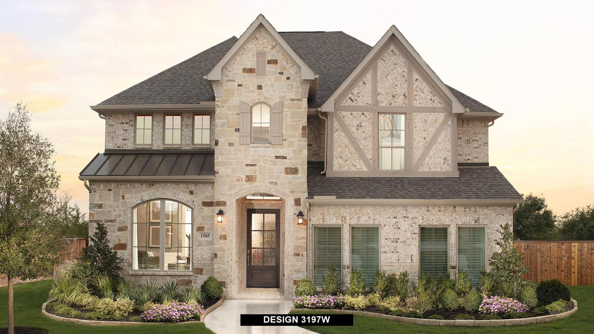 Plan 3197W:Representative photo.  Features and specifications may vary by community.