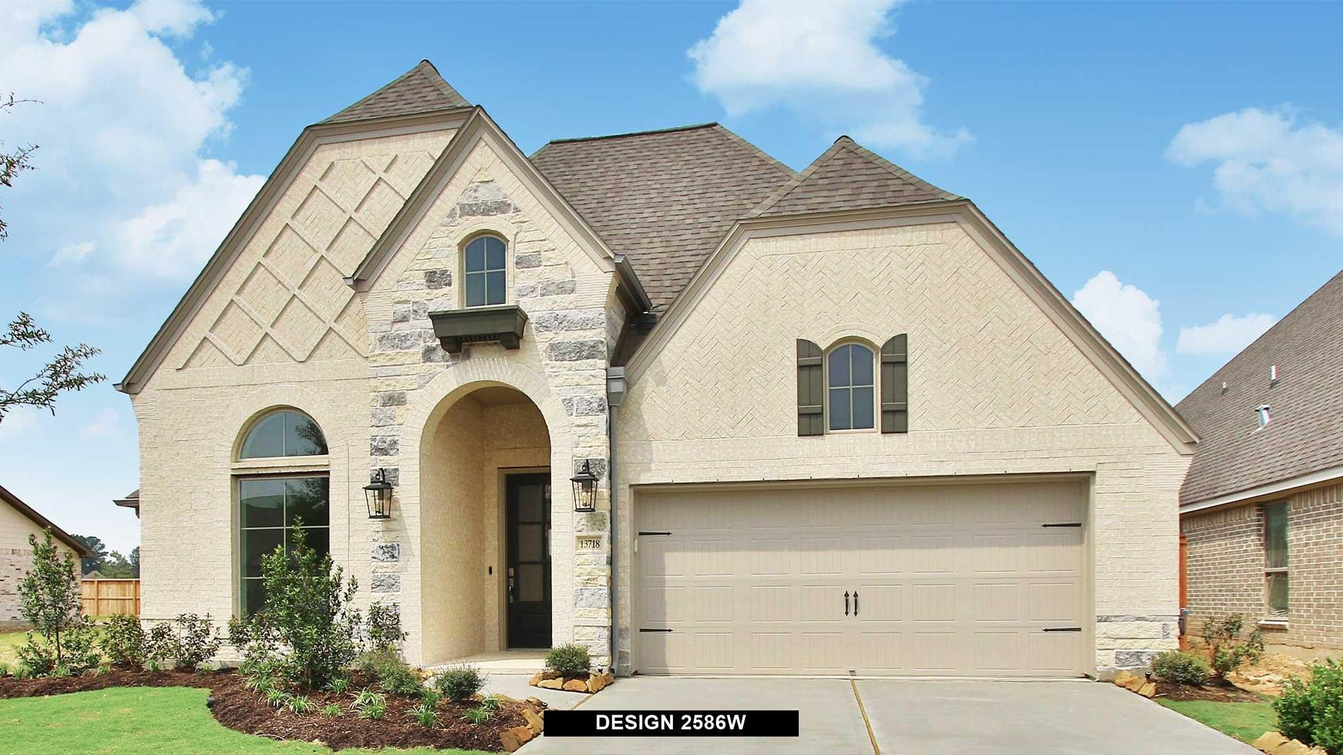 Plan 2586W:Representative photo.  Features and specifications may vary by community.