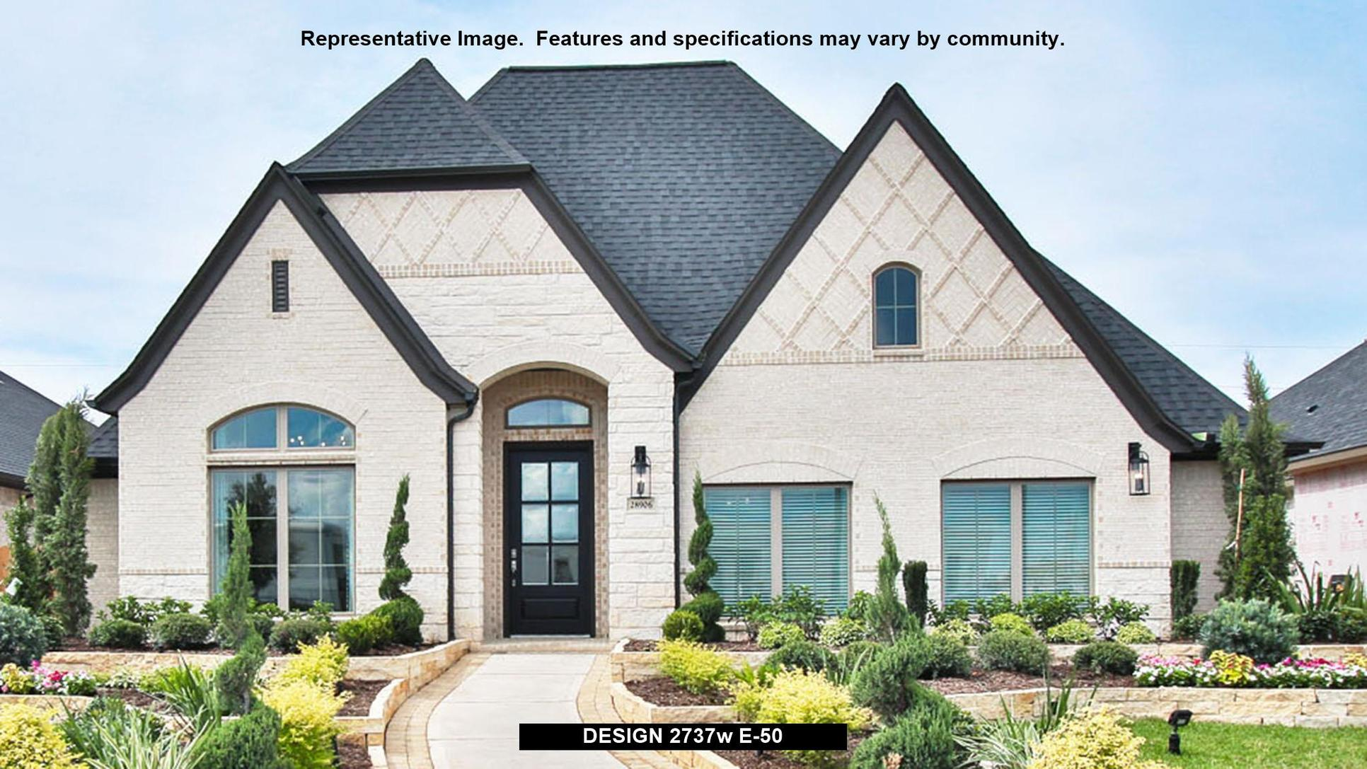 Plan 2737W:Representative photo.  Features and specifications may vary by community.