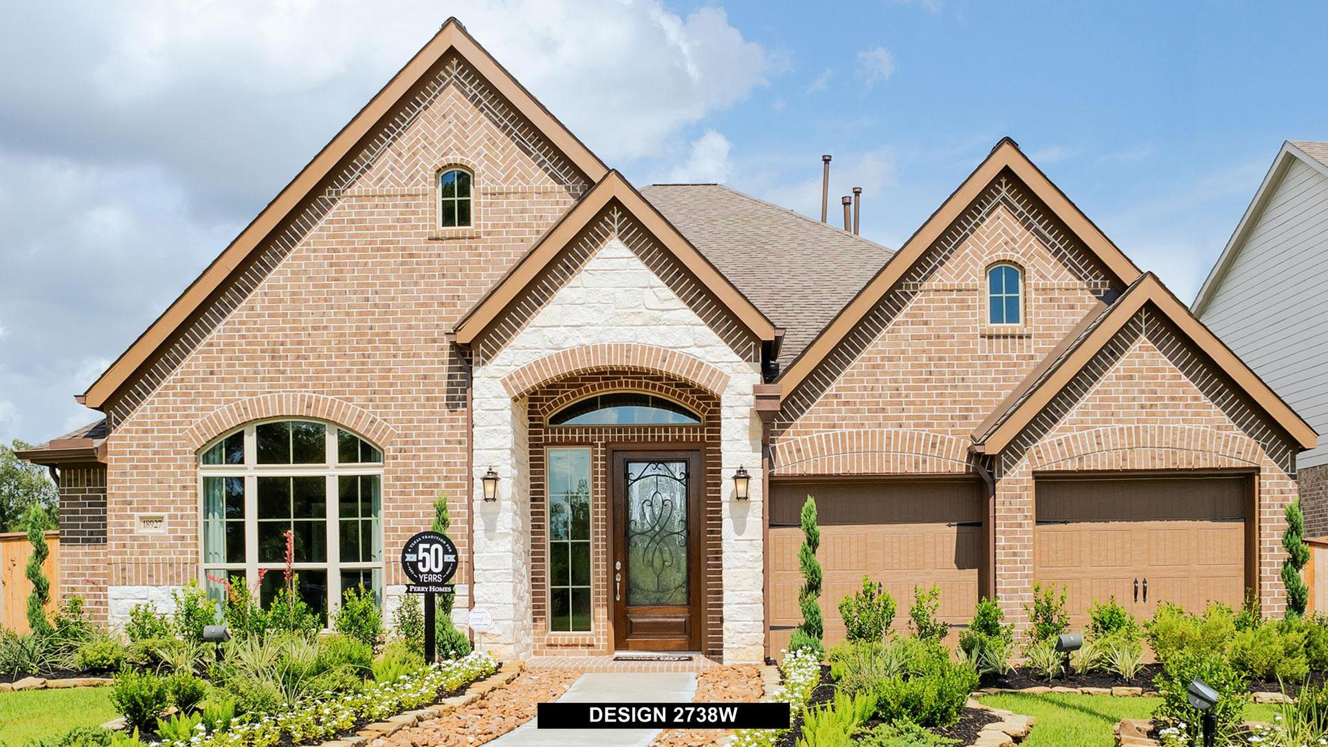 Plan 2738W:Representative photo.  Features and specifications may vary by community.