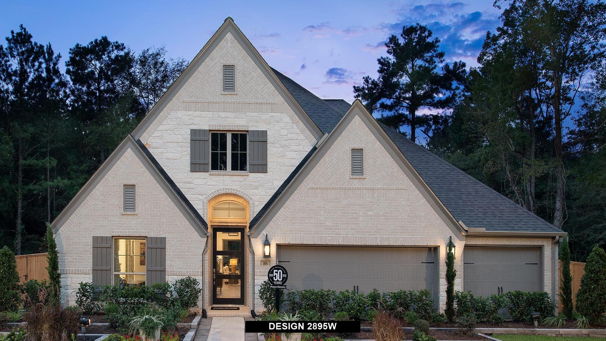 Plan 2895W:Representative photo.  Features and specifications may vary by community.