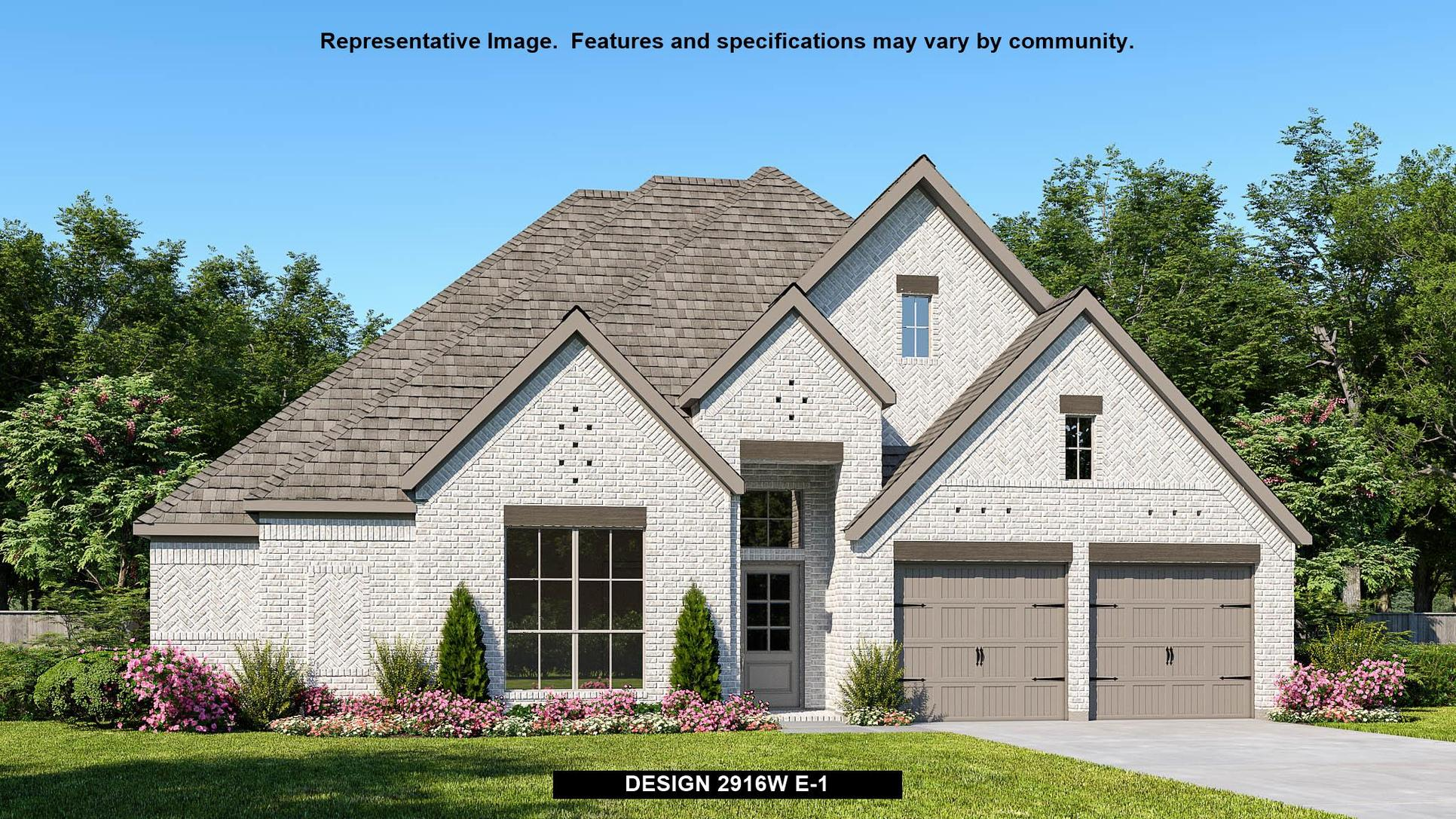 Plan 2916W:Representative photo.  Features and specifications may vary by community.