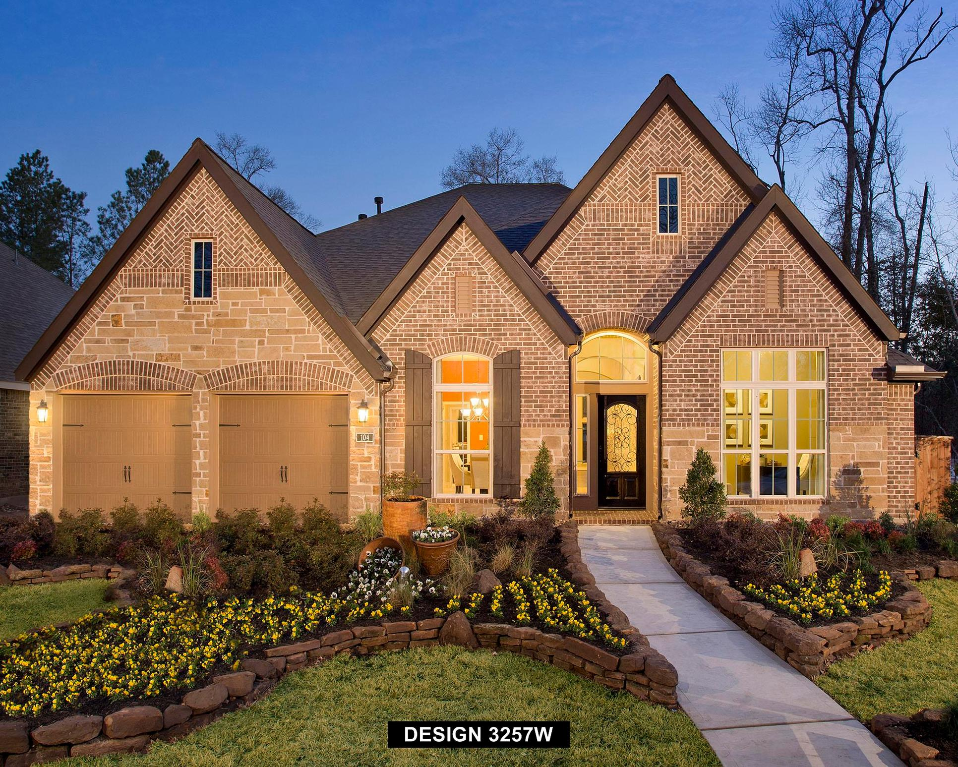 Plan 3257W:Representative photo.  Features and specifications may vary by community.