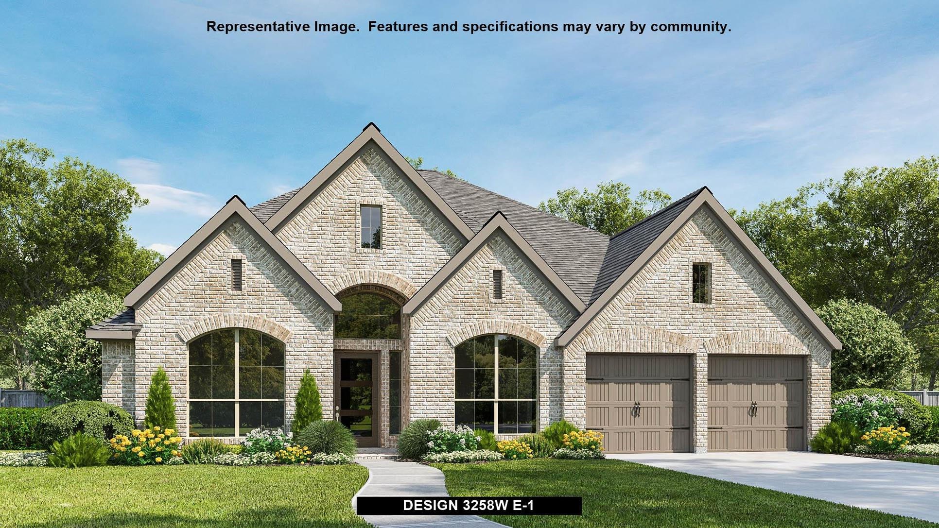 Plan 3258W:Representative photo.  Features and specifications may vary by community.