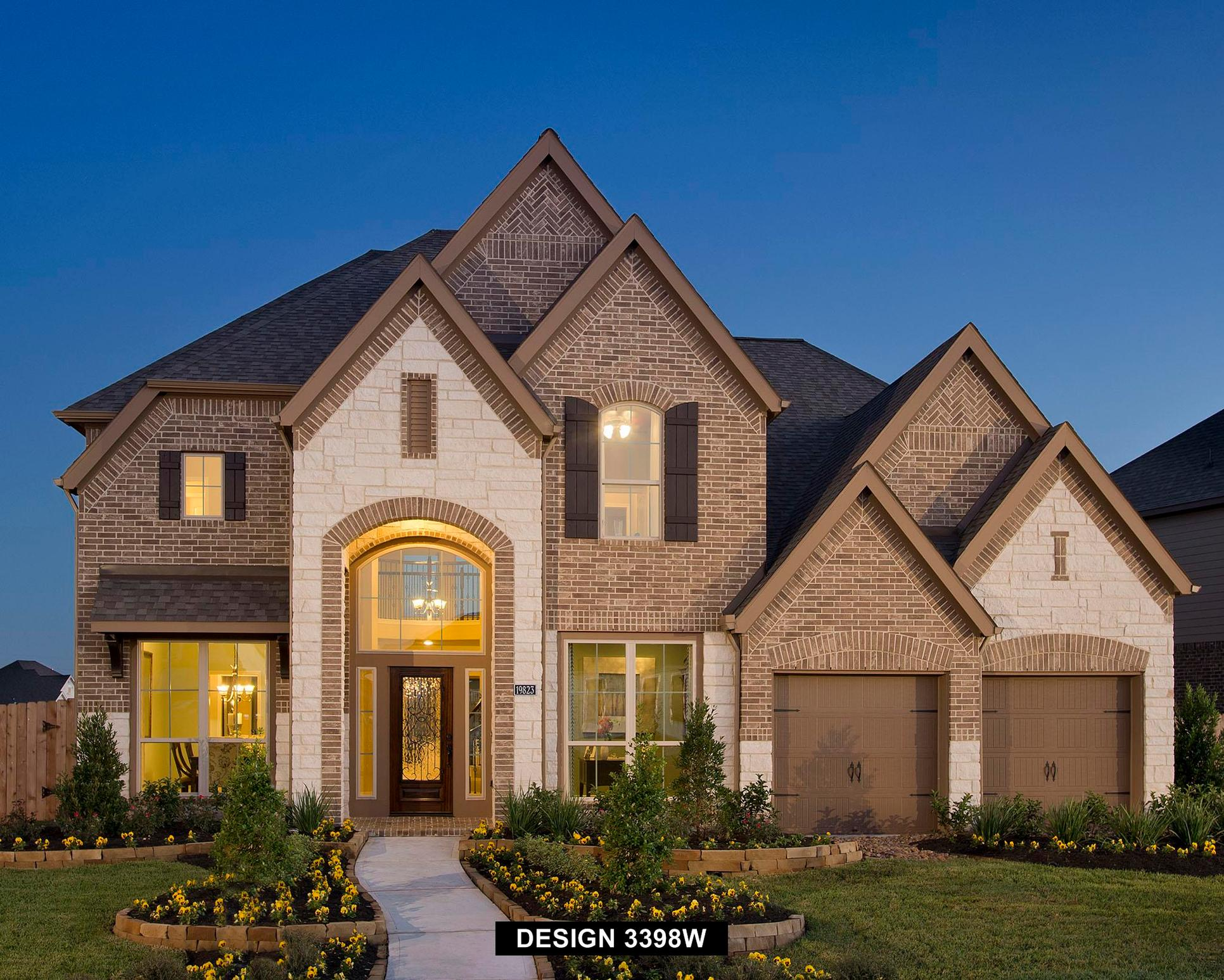 Plan 3398W:Representative photo.  Features and specifications may vary by community.