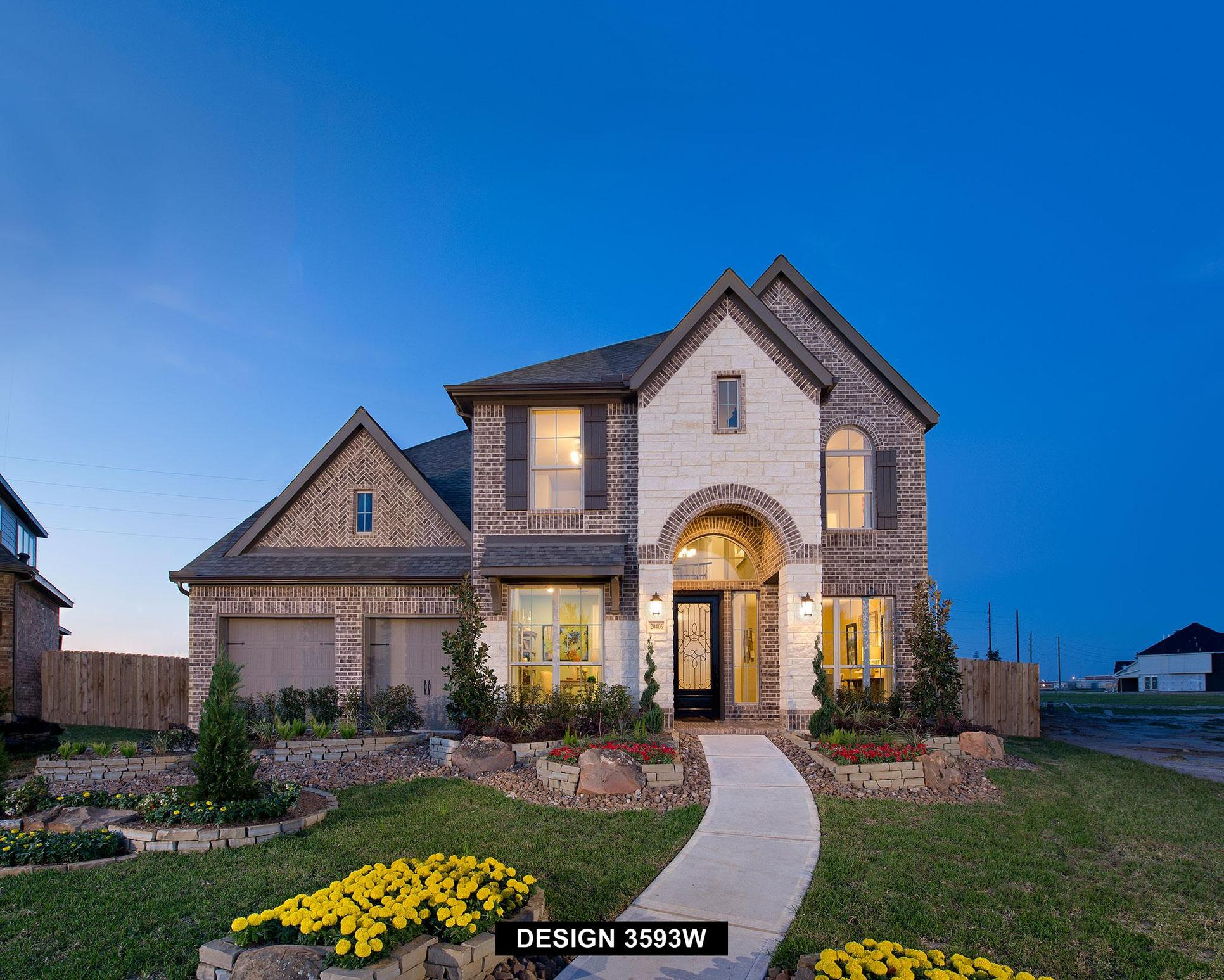 Plan 3593W:Representative photo.  Features and specifications may vary by community.