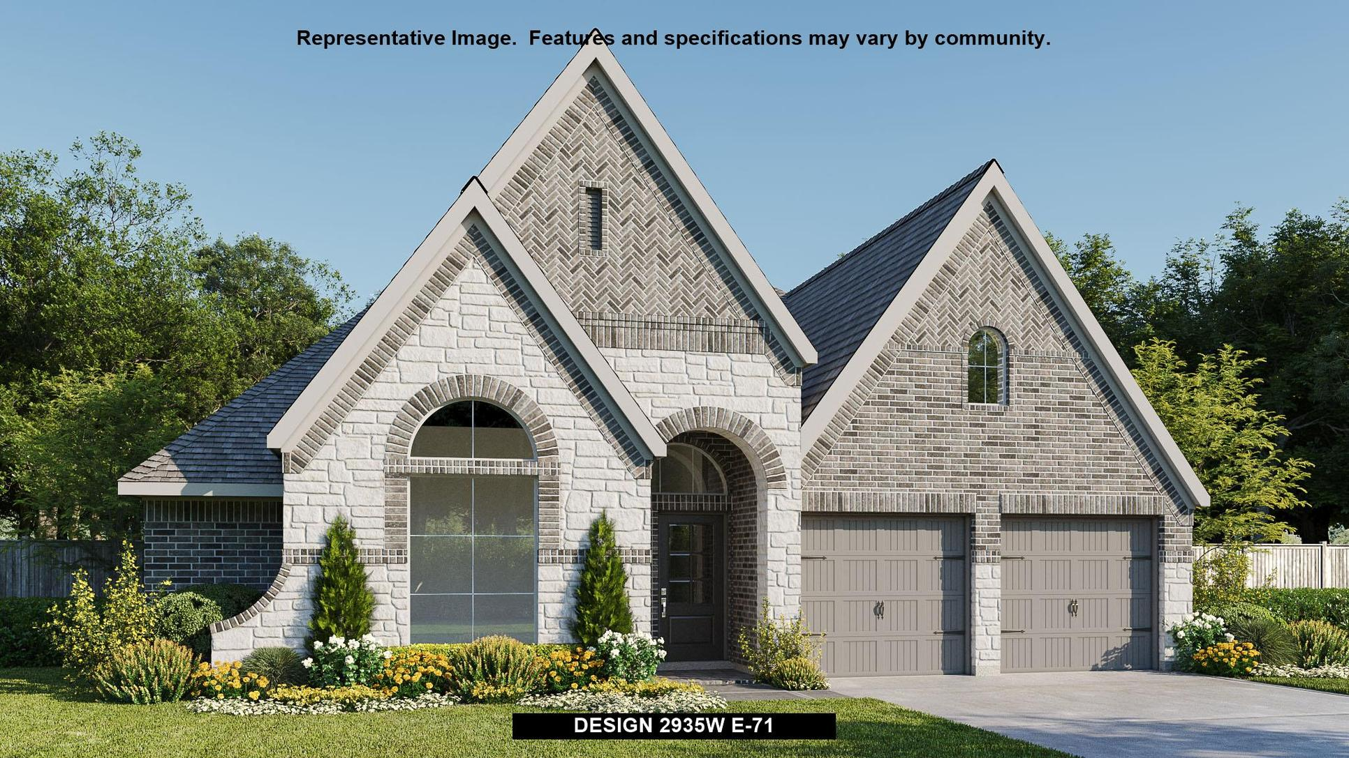 Plan 2935W:Representative photo.  Features and specifications may vary by community.