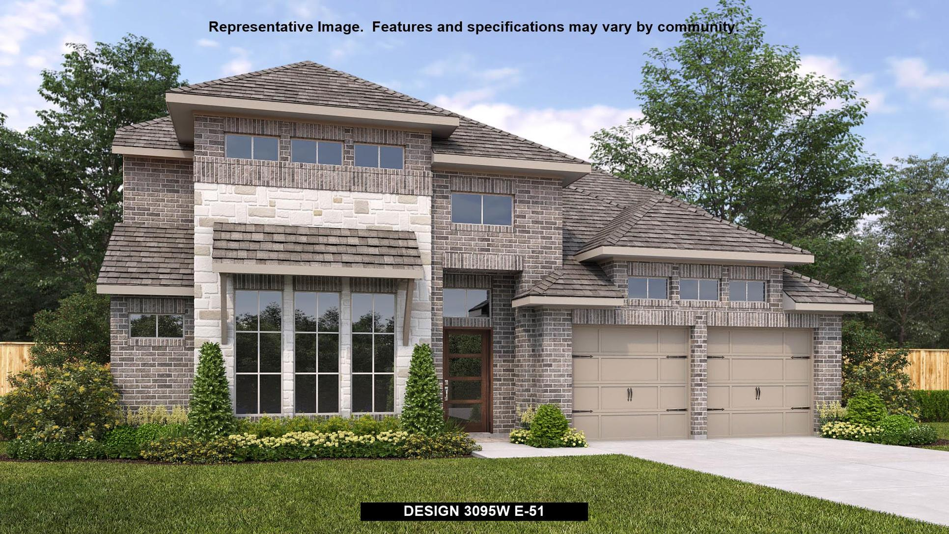 Plan 3095W:Representative photo.  Features and specifications may vary by community.