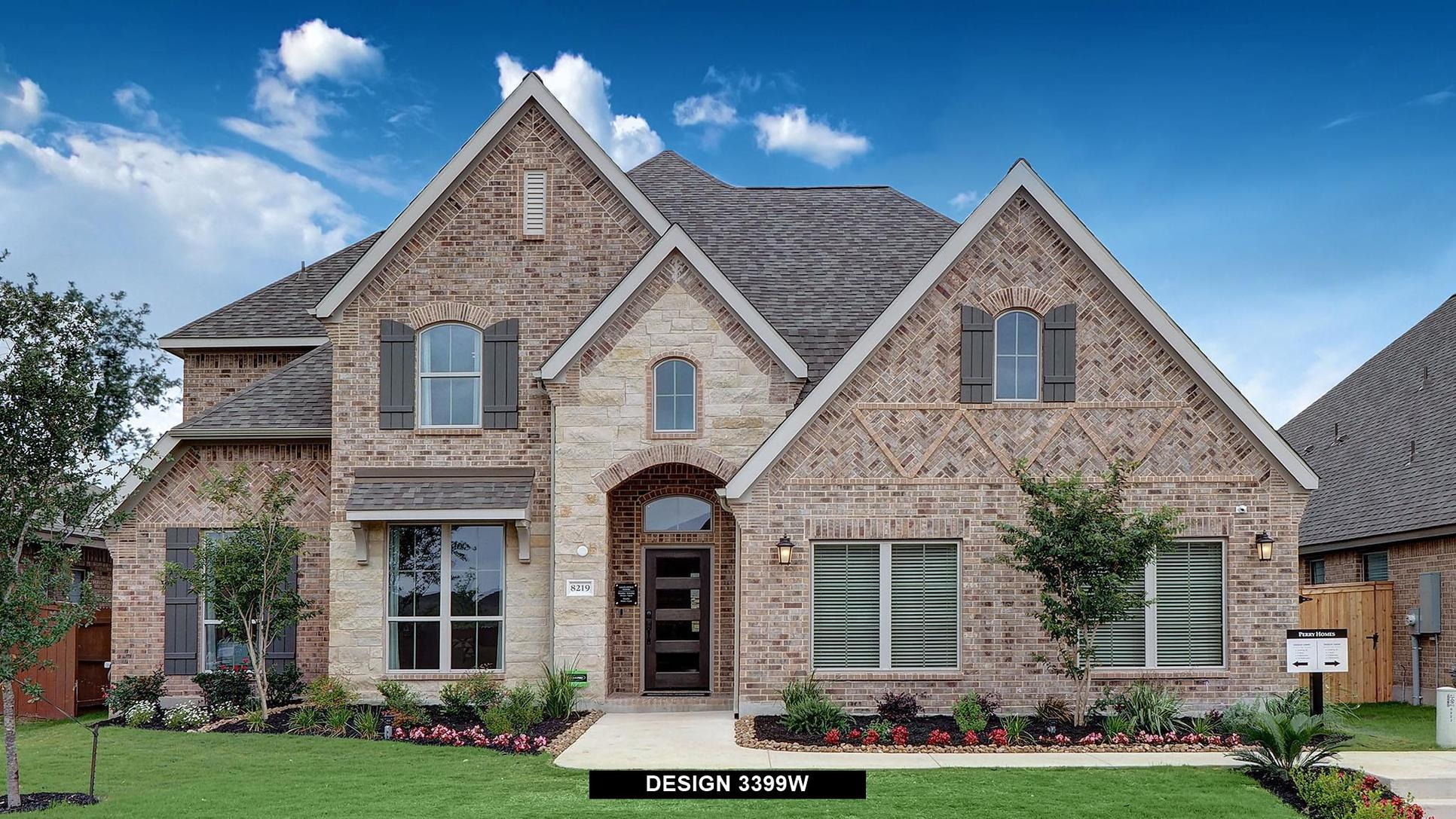Plan 3399W:Representative photo.  Features and specifications may vary by community.