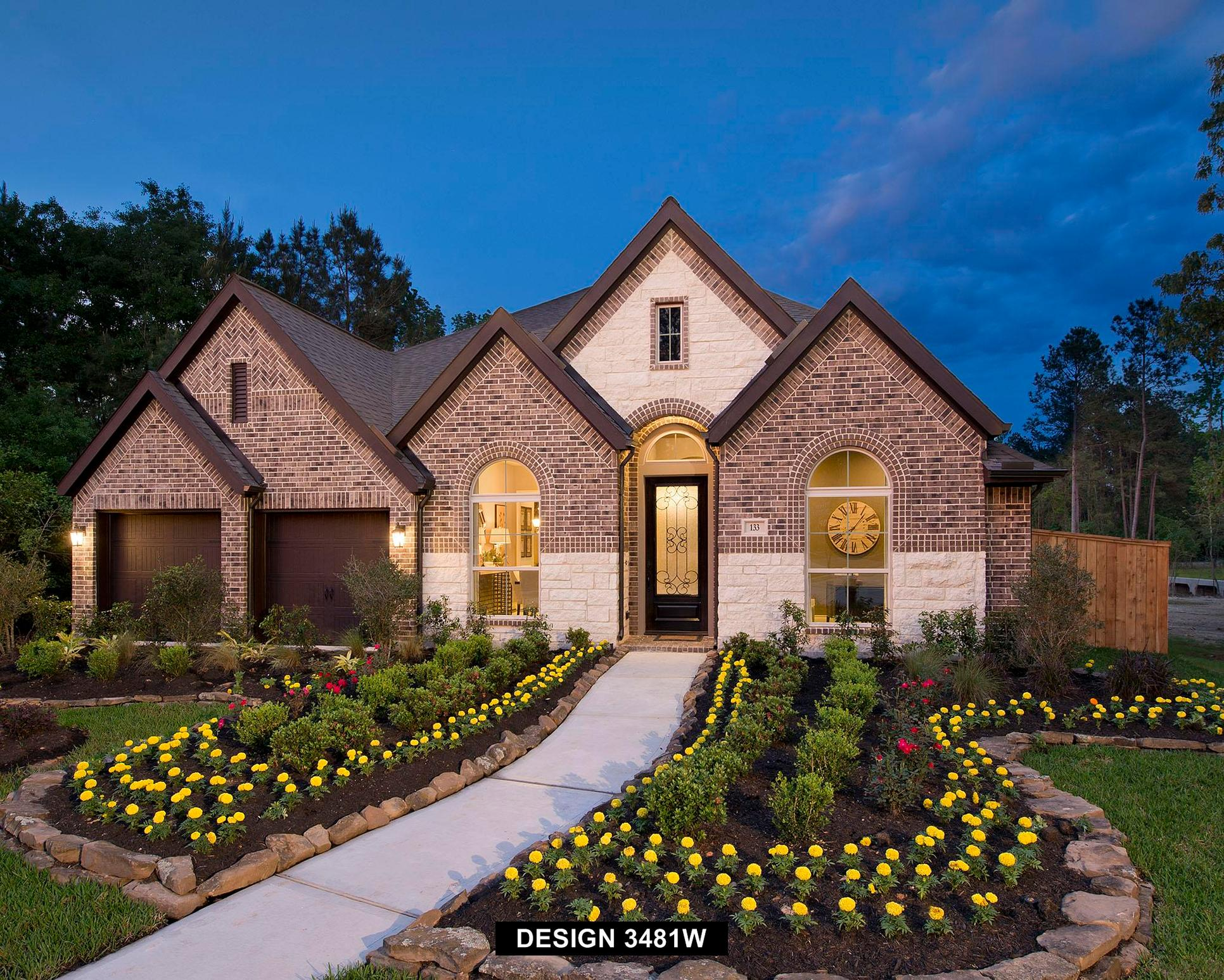 Plan 3481W:Representative photo.  Features and specifications may vary by community.