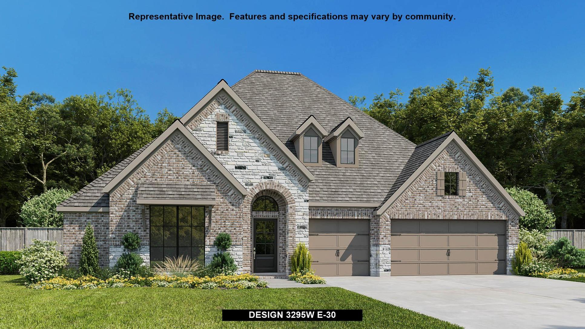 Plan 3295W:Representative photo.  Features and specifications may vary by community.