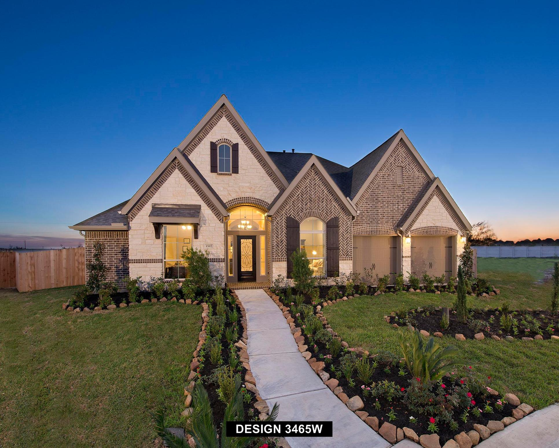 Plan 3465W:Representative photo.  Features and specifications may vary by community.