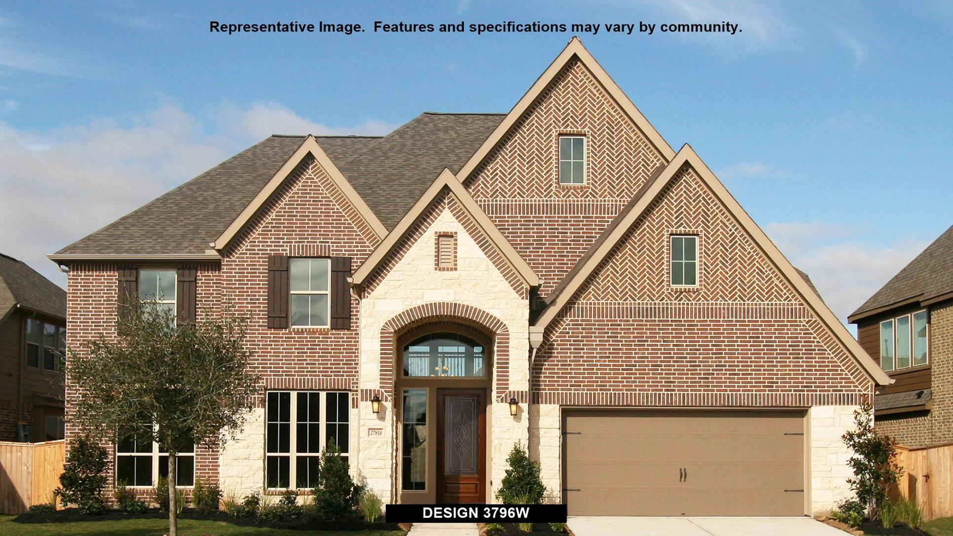 Plan 3796W:Representative photo.  Features and specifications may vary by community.