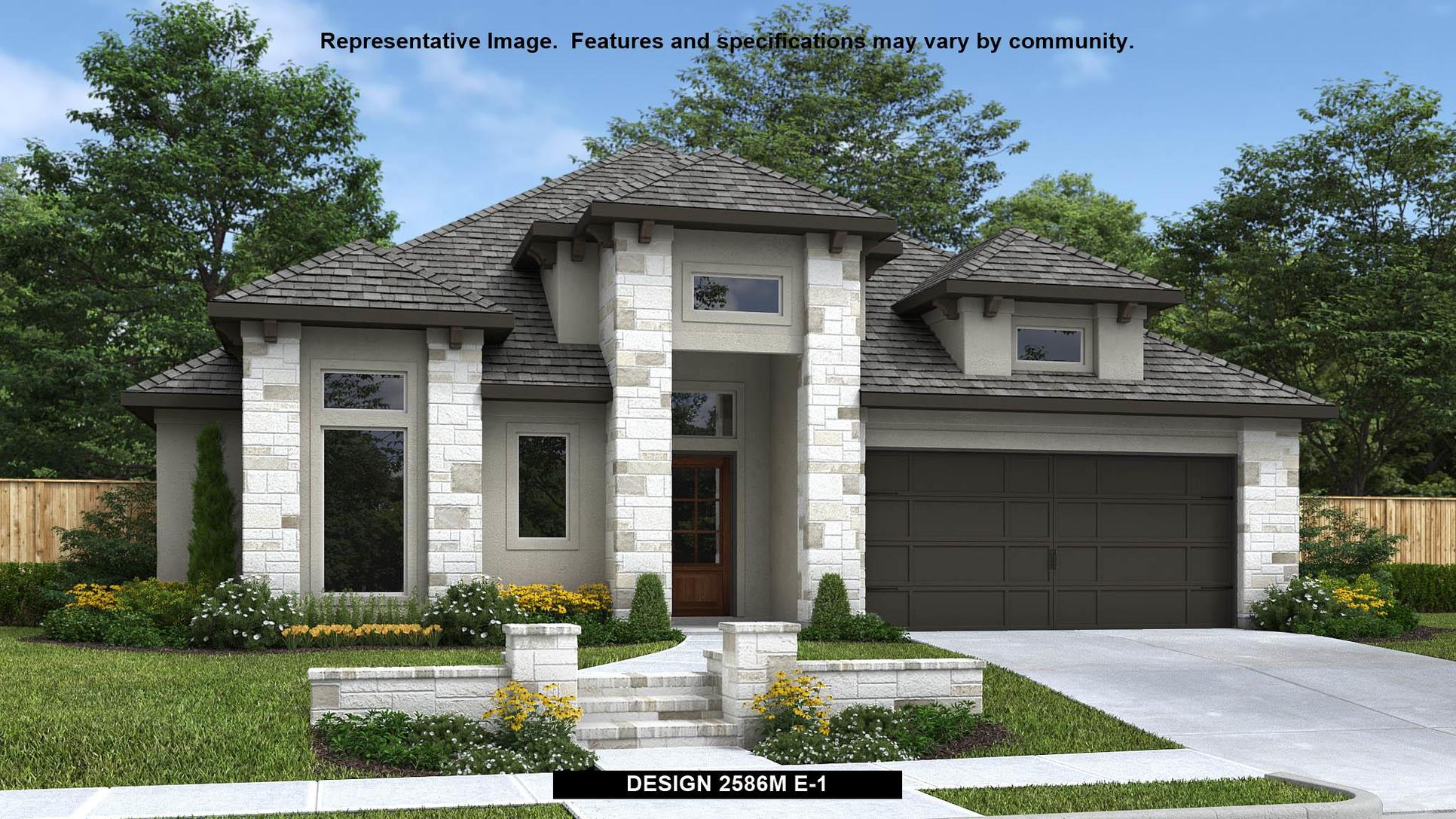 Plan 2586M:Representative photo.  Features and specifications may vary by community.