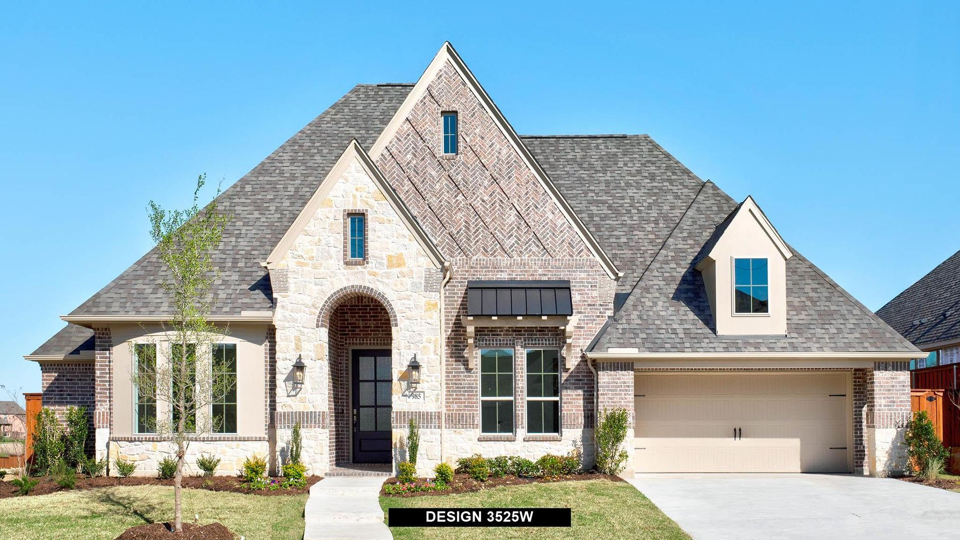 Plan 3525W:Representative photo.  Features and specifications may vary by community.