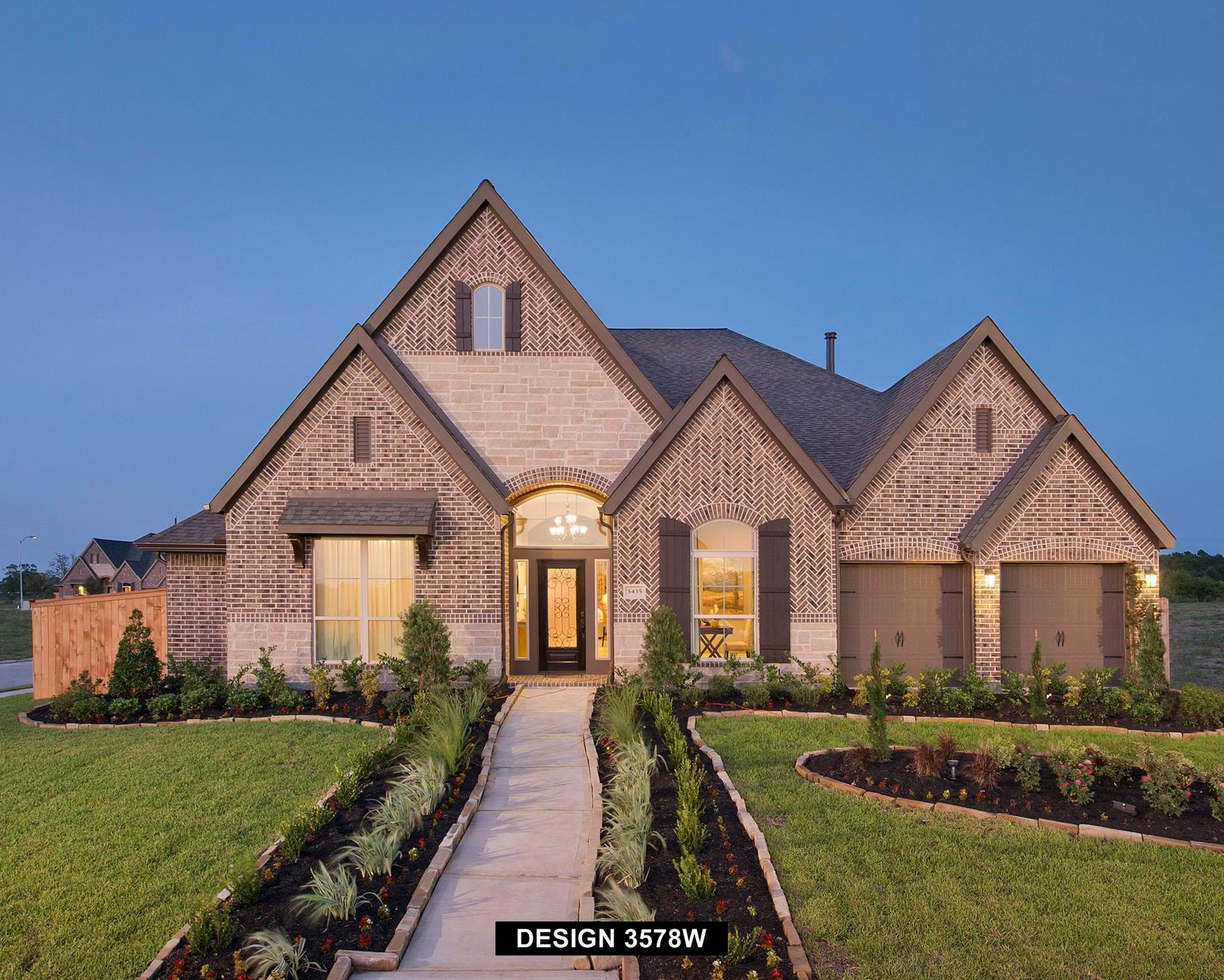 Plan 3578W:Representative photo.  Features and specifications may vary by community.
