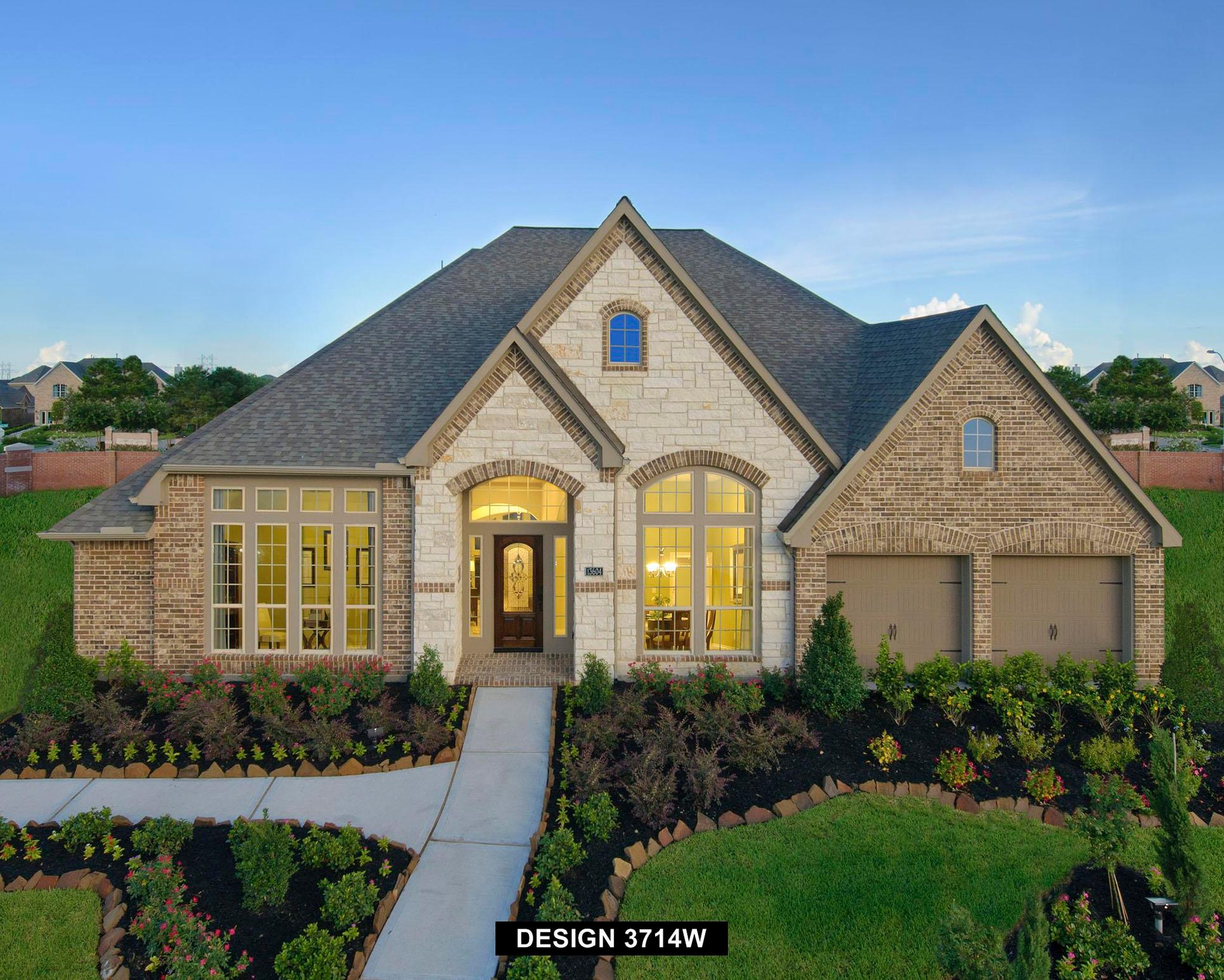 Plan 3714W:Representative photo.  Features and specifications may vary by community.