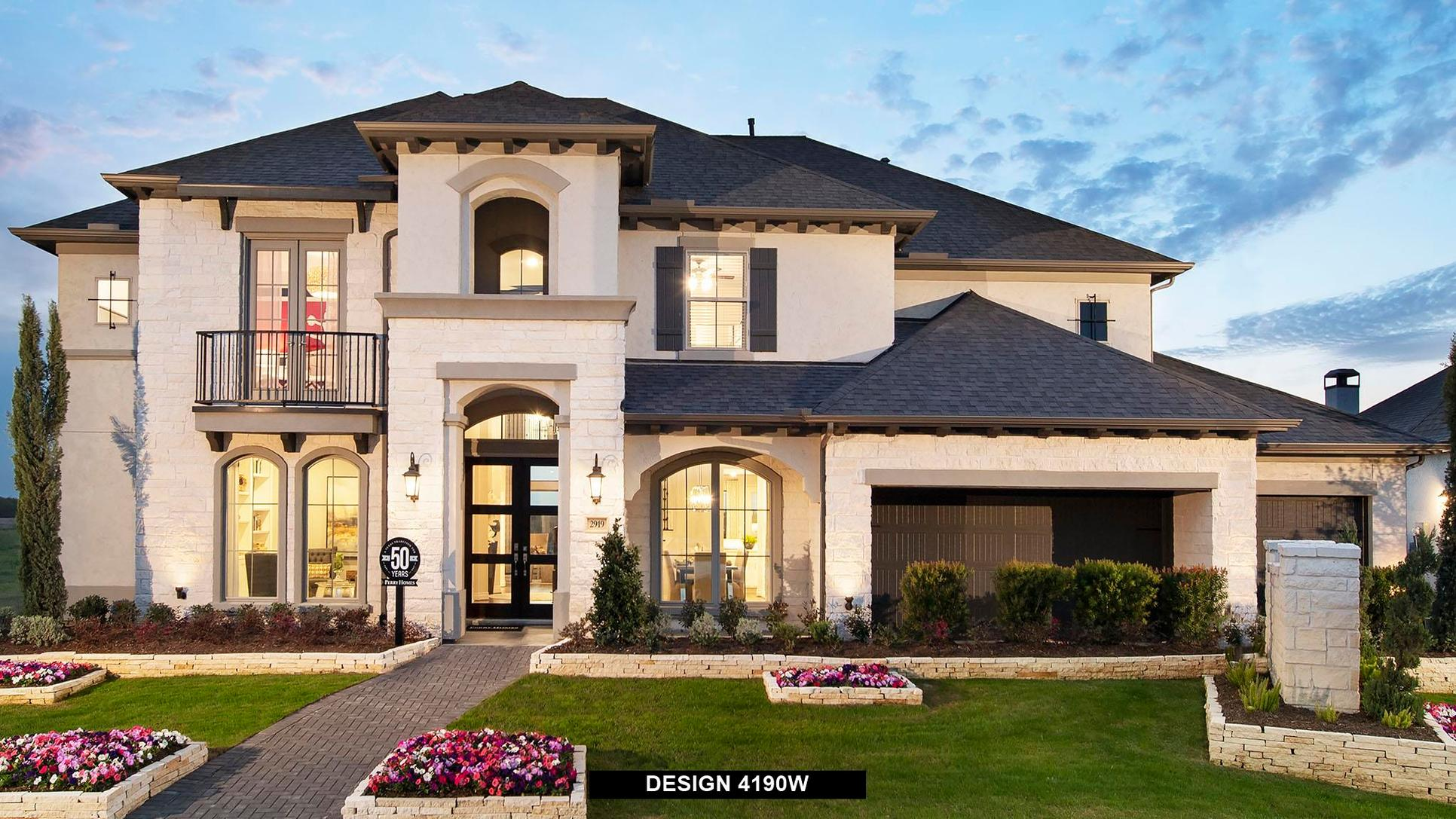 Plan 4190W:Representative photo.  Features and specifications may vary by community.