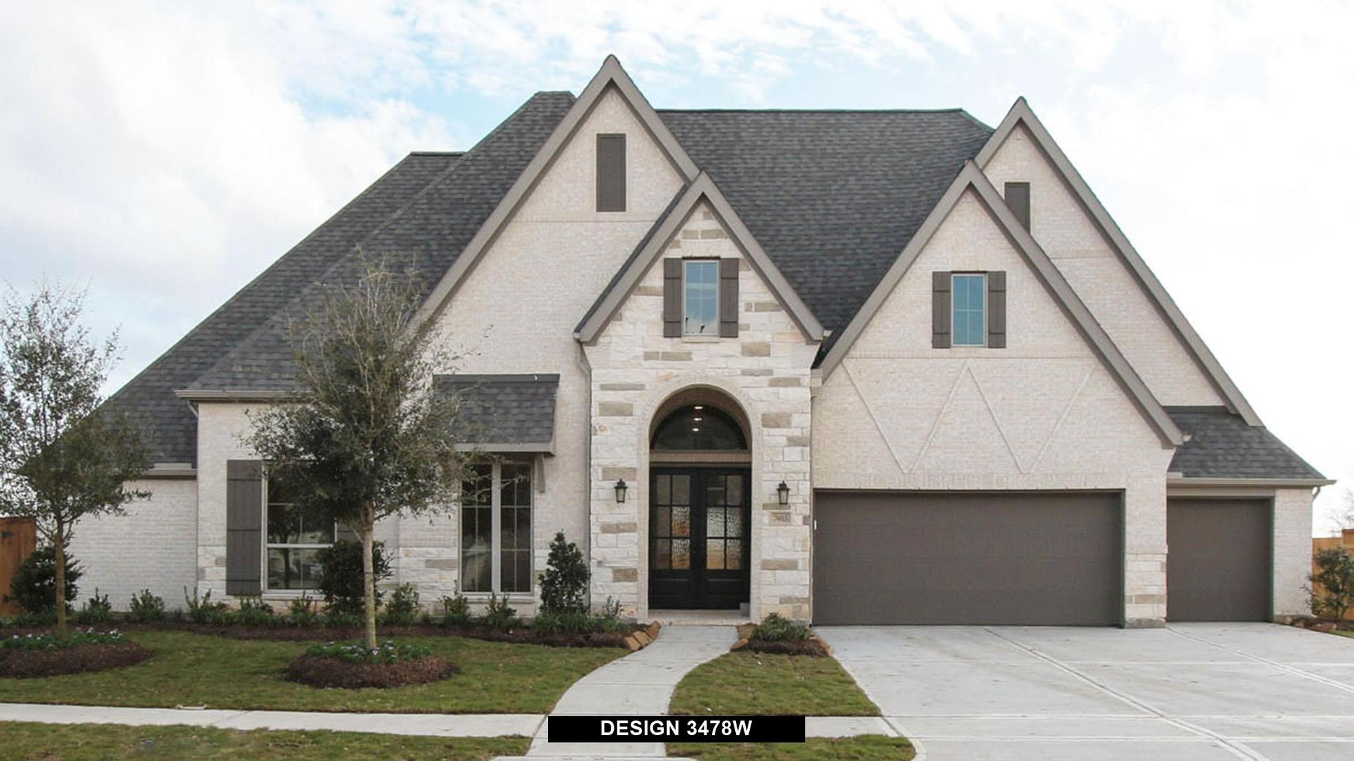Plan 3478W:Representative photo.  Features and specifications may vary by community.