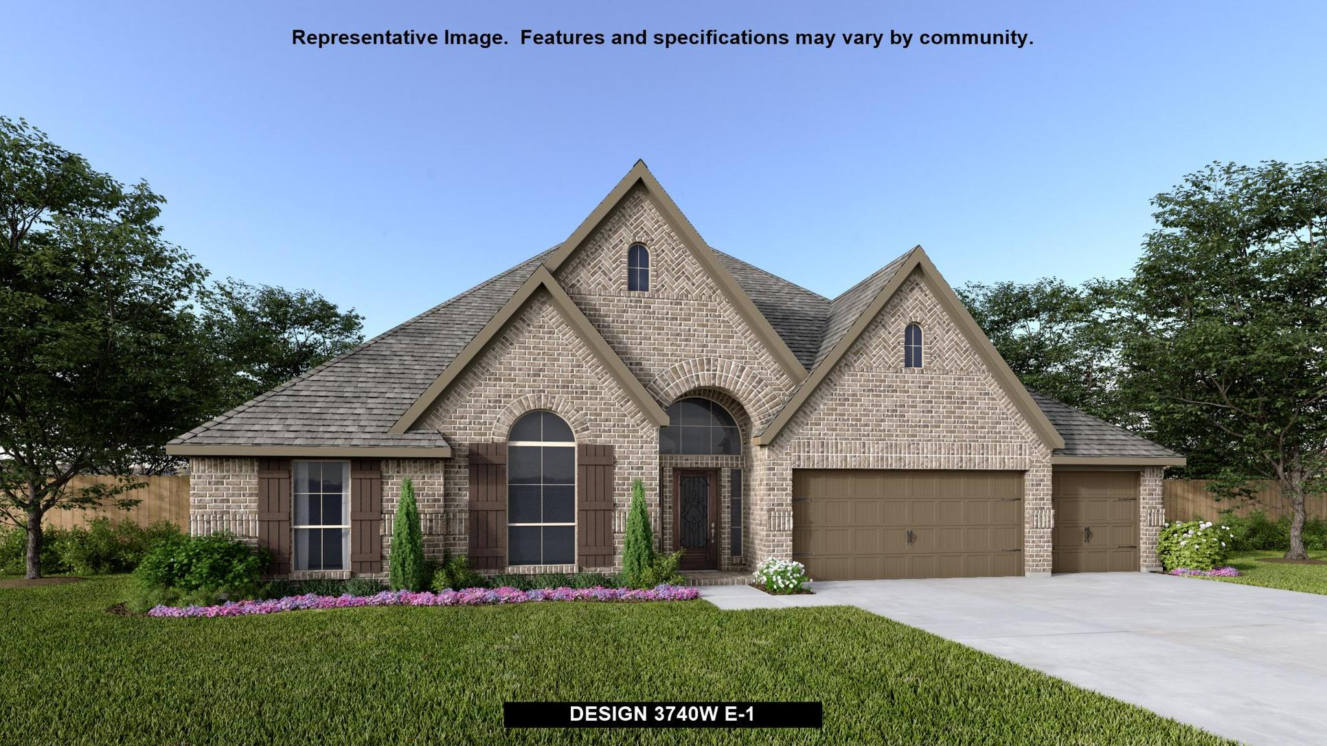 Plan 3740W:Representative photo.  Features and specifications may vary by community.