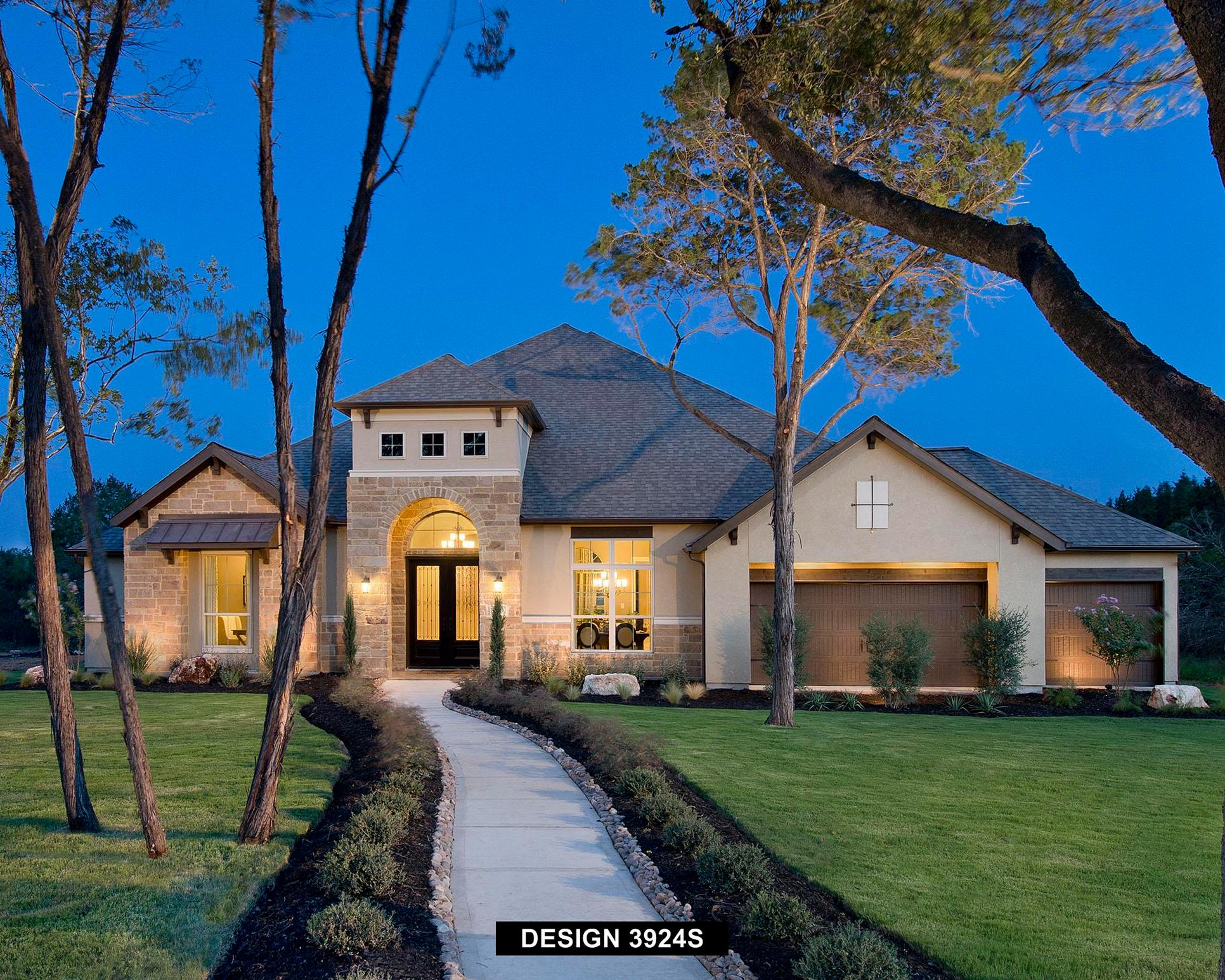 Plan 3924S:Representative photo.  Features and specifications may vary by community.