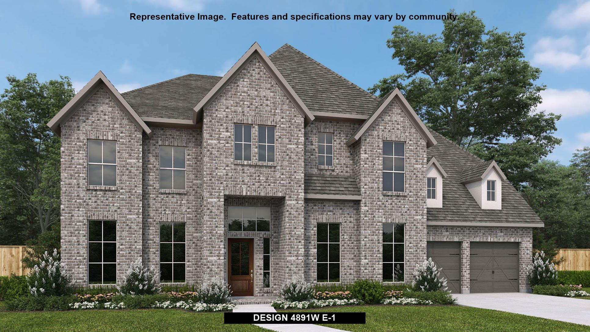Plan 4891W:Representative photo.  Features and specifications may vary by community.