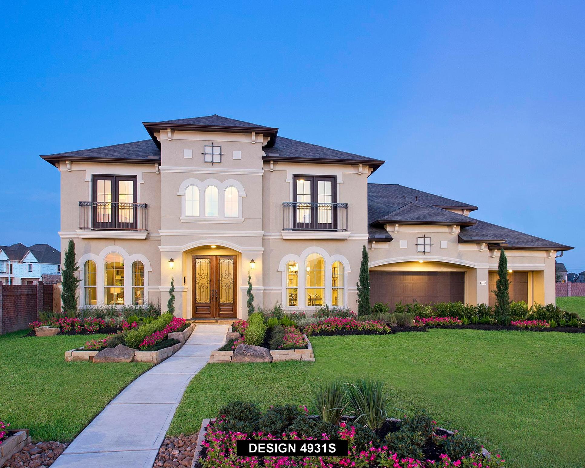 Plan 4931S:Representative photo.  Features and specifications may vary by community.