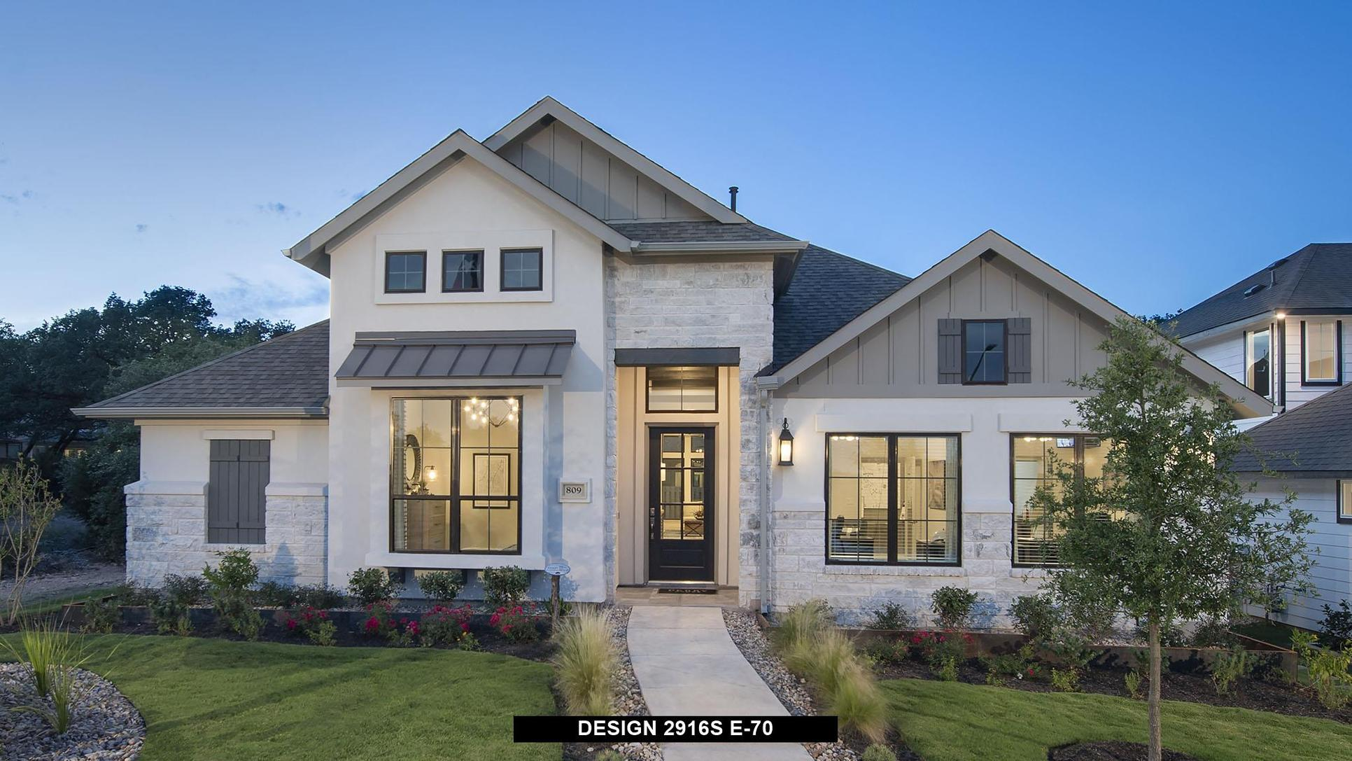 Plan 2916S:Representative photo.  Features and specifications may vary by community.