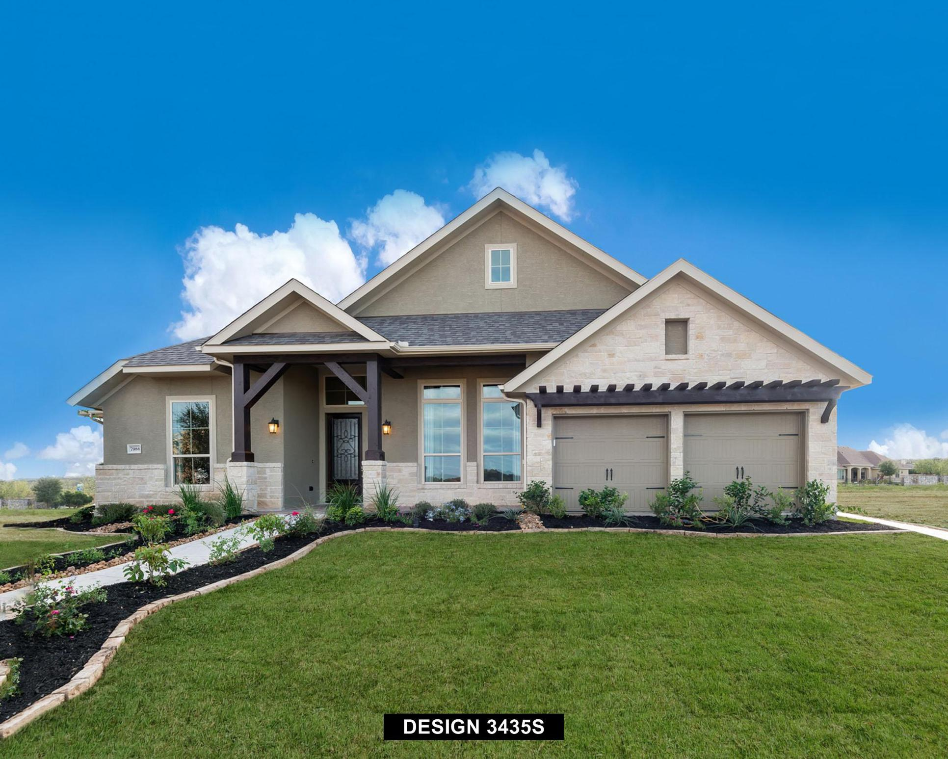 Plan 3435S:Representative photo.  Features and specifications may vary by community.