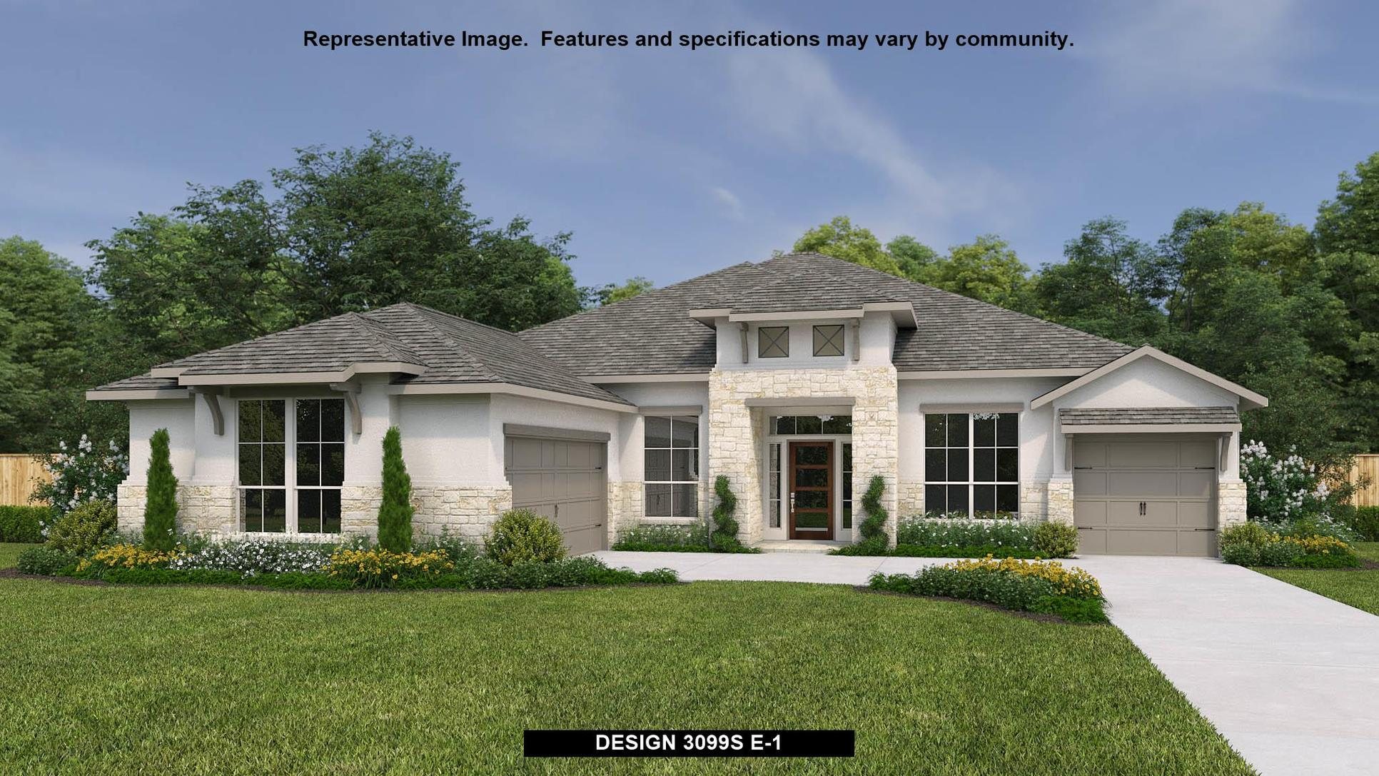 Plan 3099S:Representative photo.  Features and specifications may vary by community.