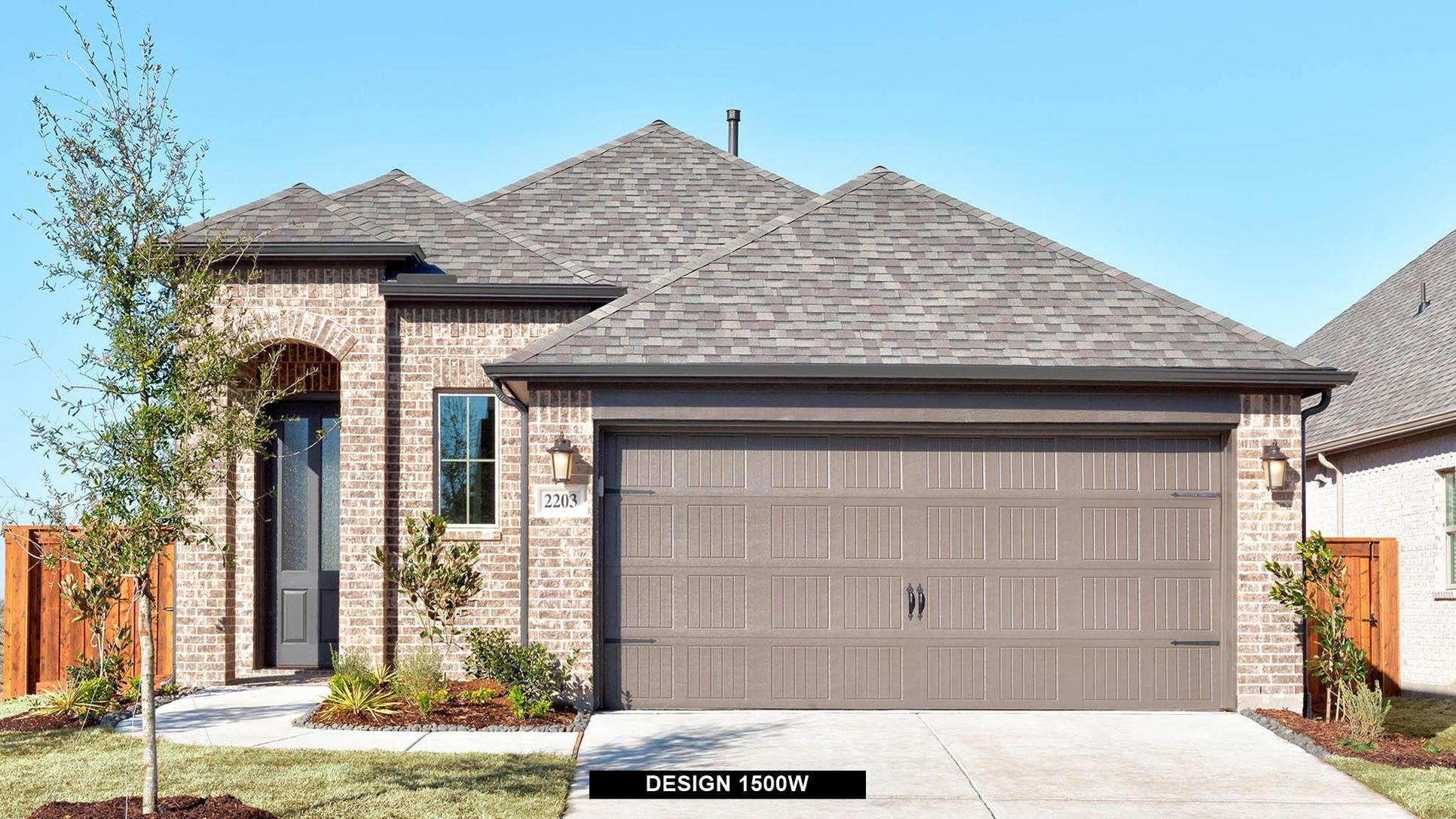 Plan 1500W:Representative photo.  Features and specifications may vary by community.
