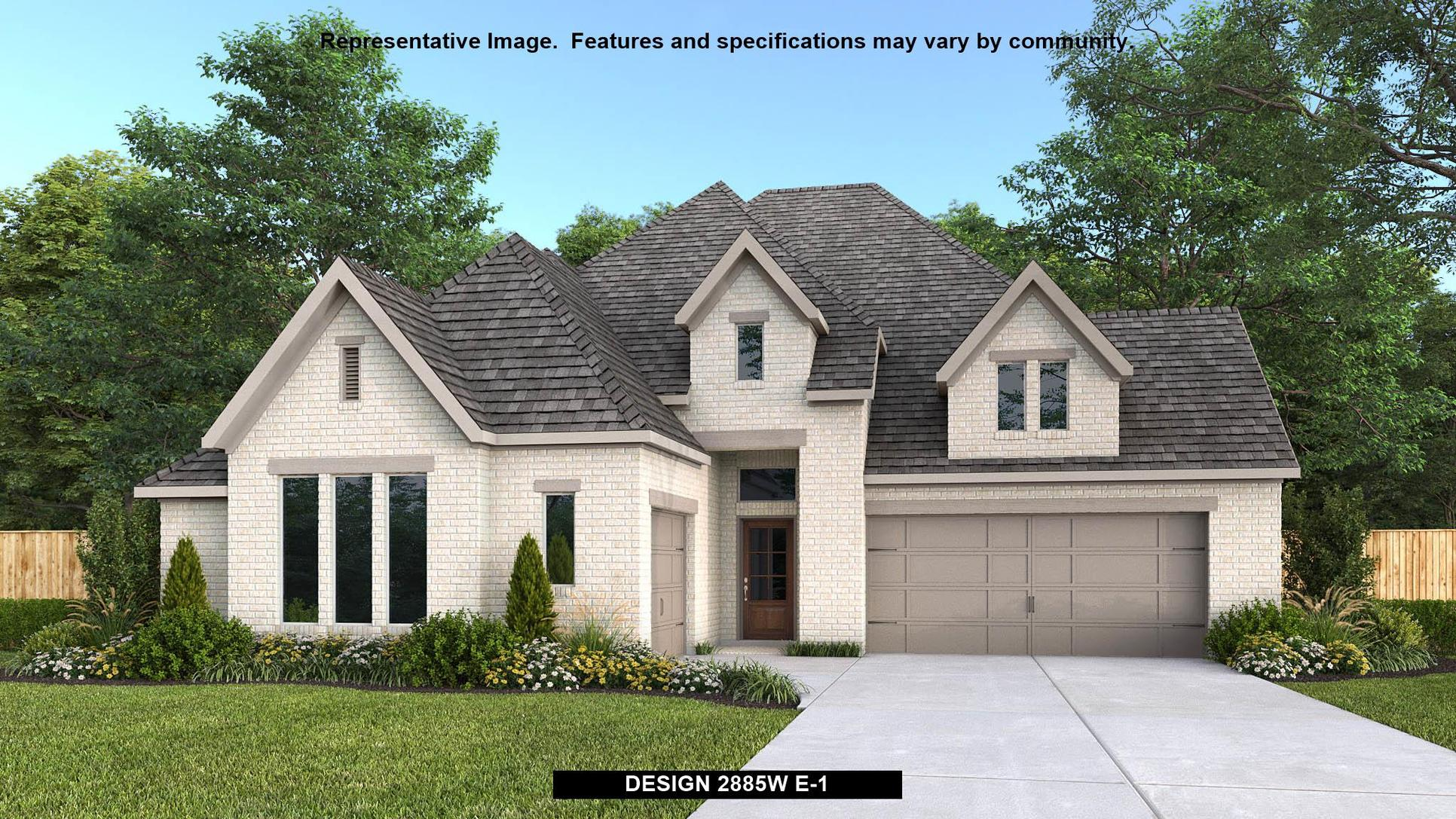 Plan 2885W:Representative photo.  Features and specifications may vary by community.