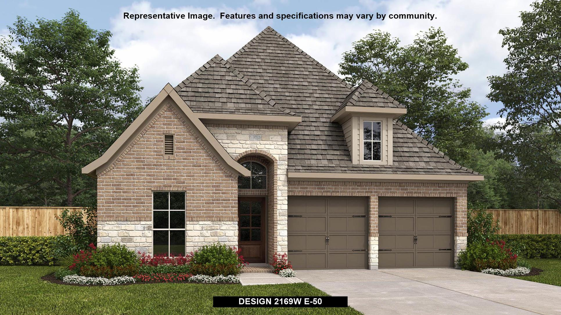 Plan 2169W:Representative photo.  Features and specifications may vary by community.