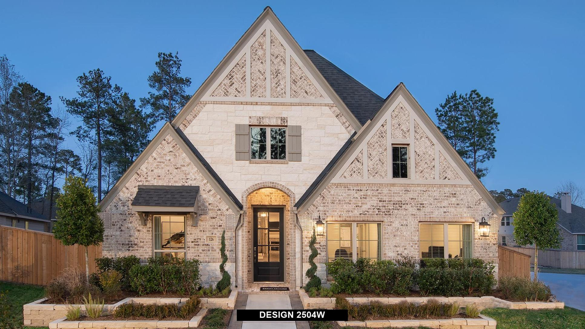 Plan 2504W:Representative photo.  Features and specifications may vary by community.