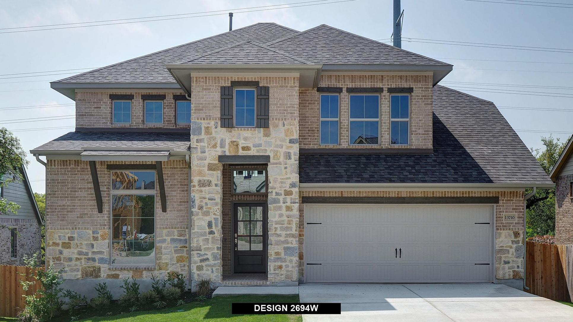 Plan 2694W:Representative photo.  Features and specifications may vary by community.