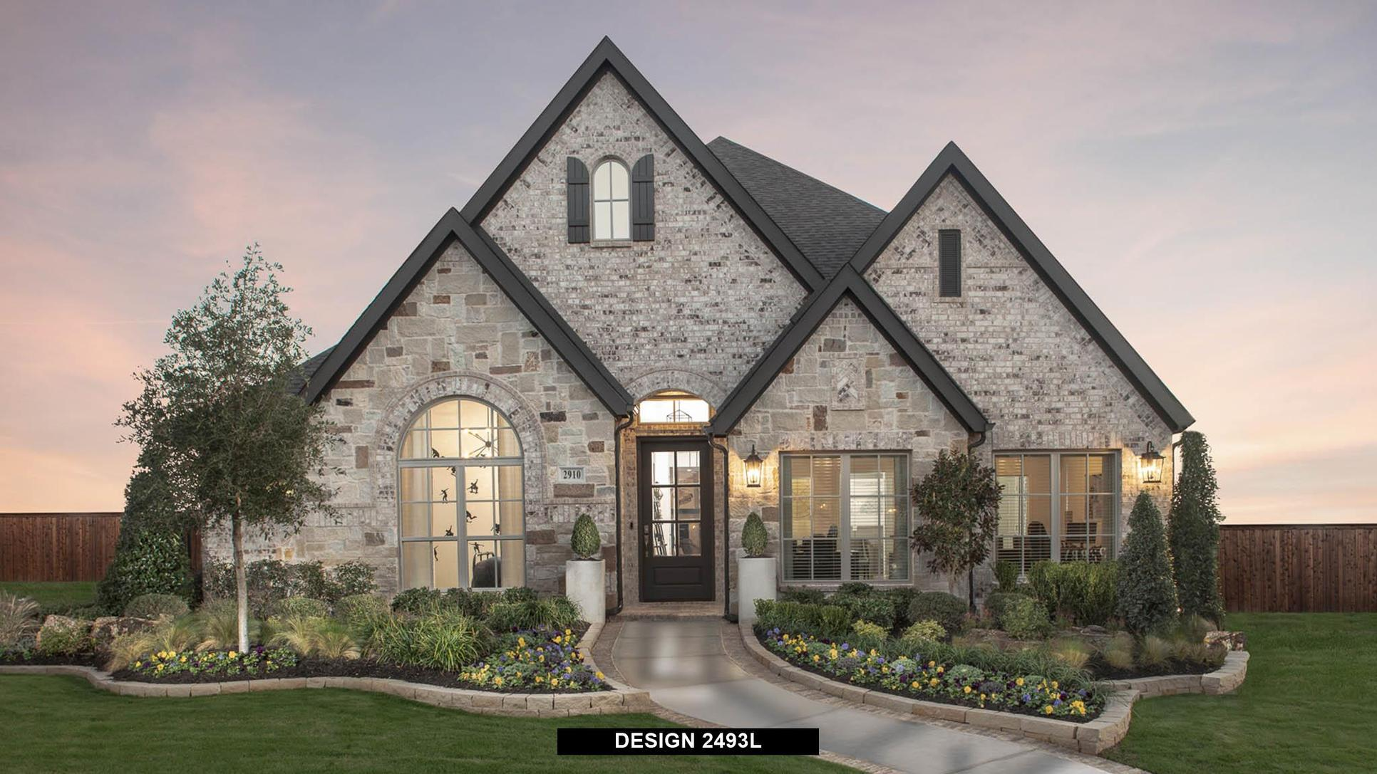 Plan 2493L:Representative photo.  Features and specifications may vary by community.