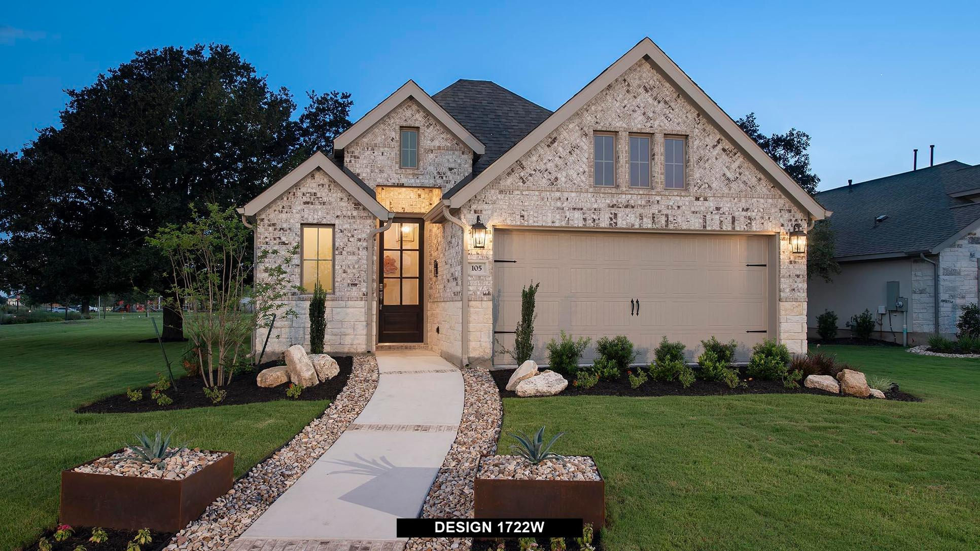 Plan 1722W:Representative photo.  Features and specifications may vary by community.