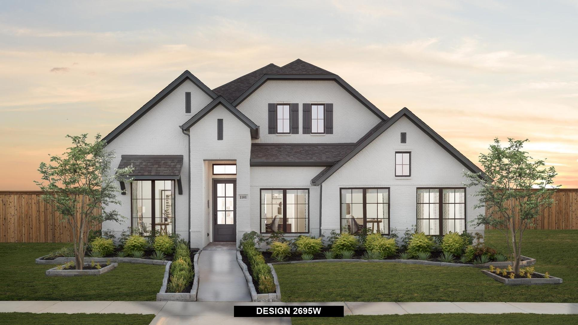 Plan 2695W:Representative photo.  Features and specifications may vary by community.