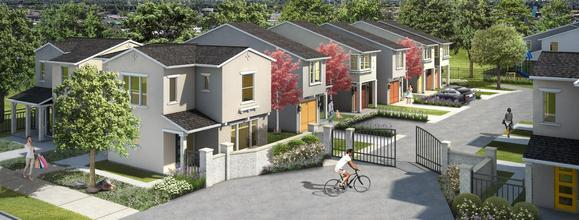 Gated Community Featuring 26 Affordable Homes:Community Image