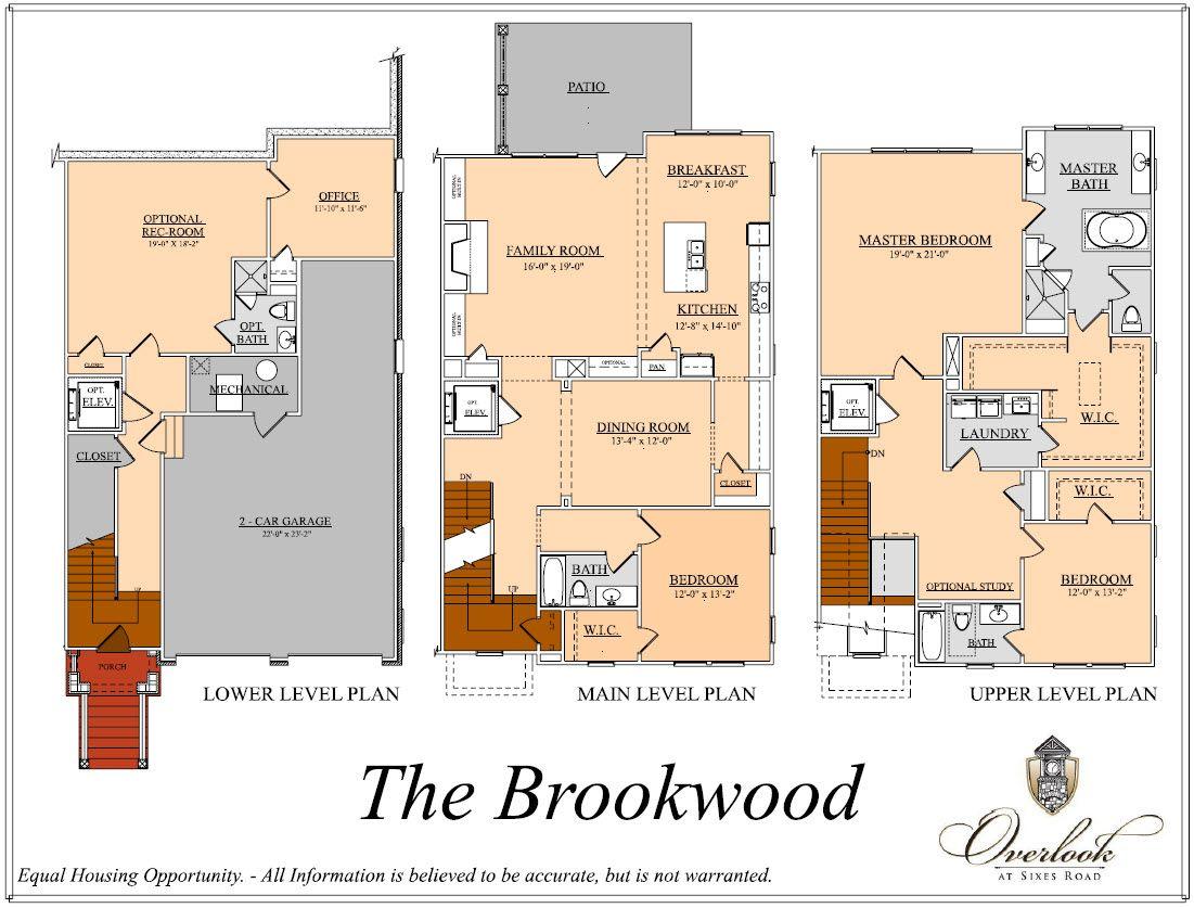 Brookwood:Floorplan